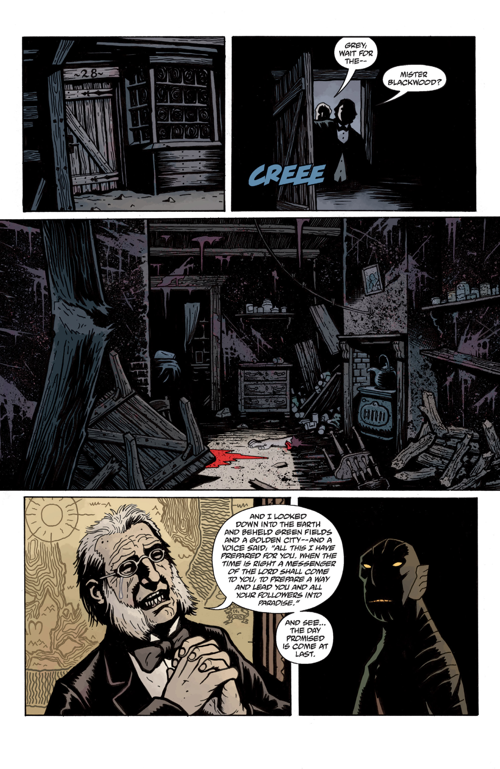 Read online Sir Edward Grey, Witchfinder: In the Service of Angels comic -  Issue # TPB - 29
