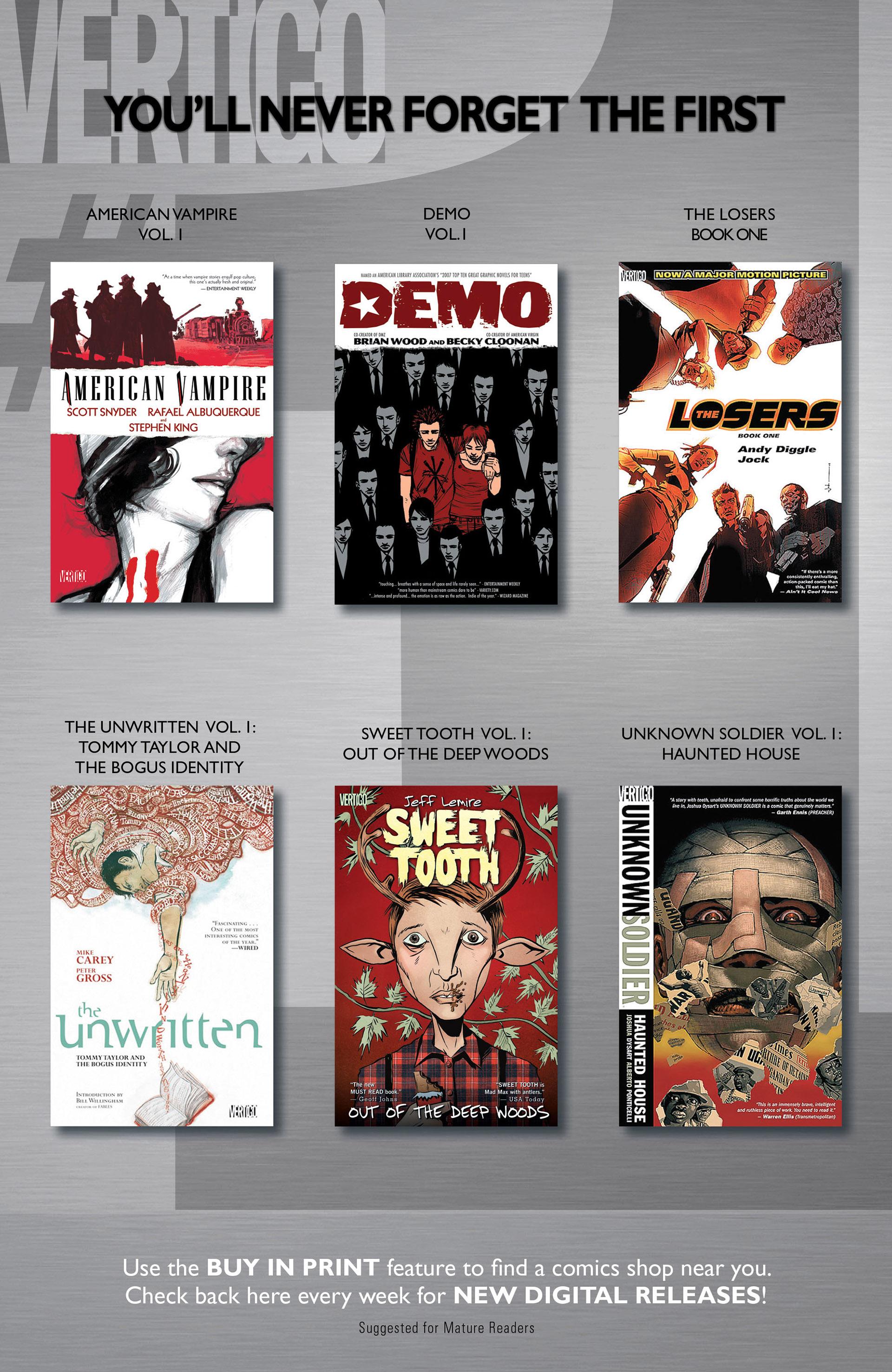 Read online American Vampire comic -  Issue #26 - 22