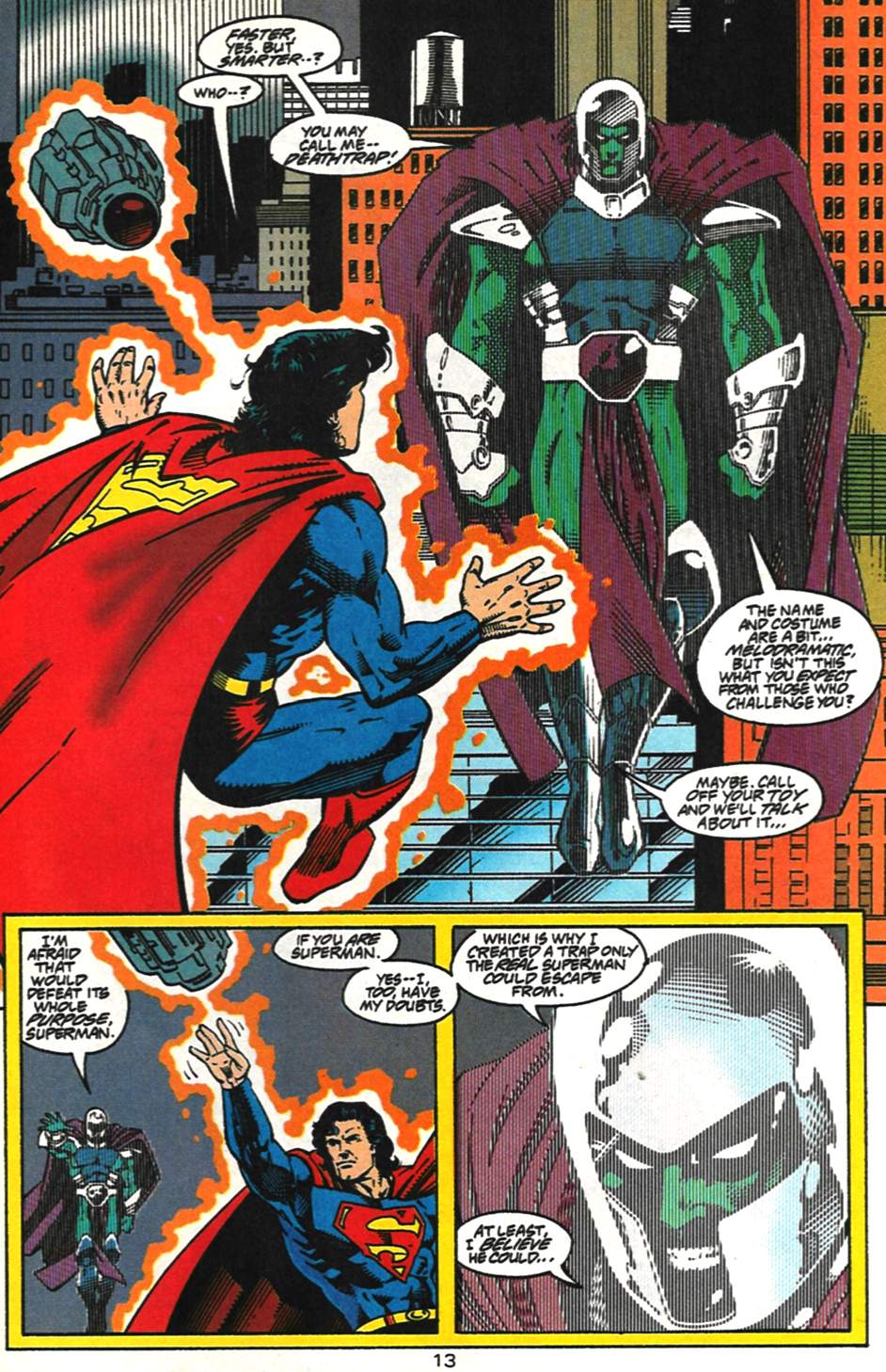 Read online Adventures of Superman (1987) comic -  Issue #517 - 14