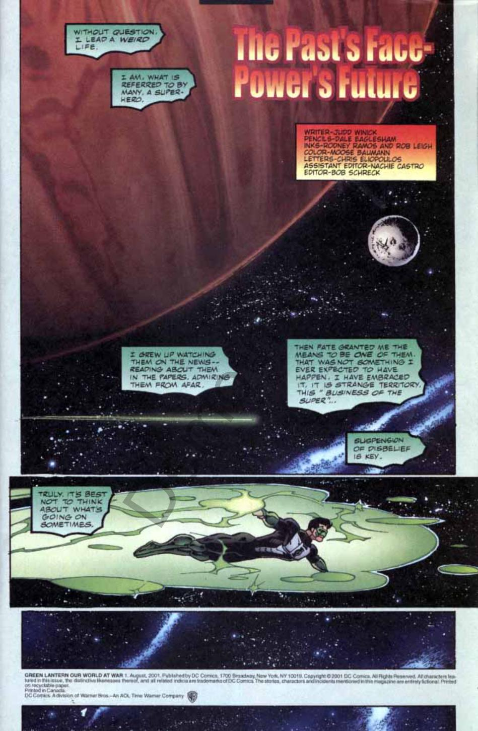Read online Green Lantern: Our Worlds At War comic -  Issue # Full - 2