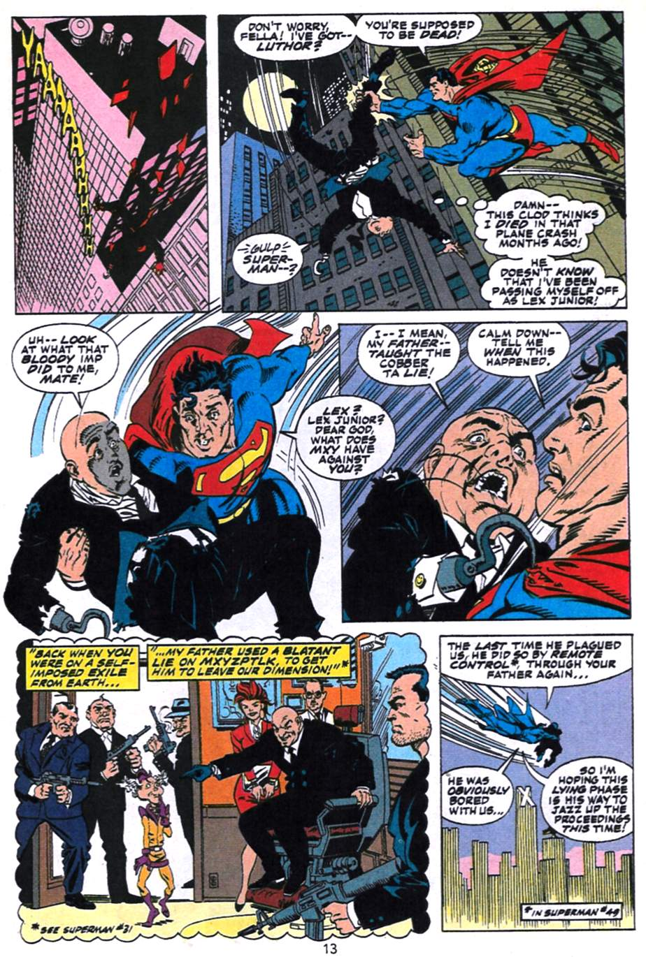 Read online Adventures of Superman (1987) comic -  Issue #496 - 14