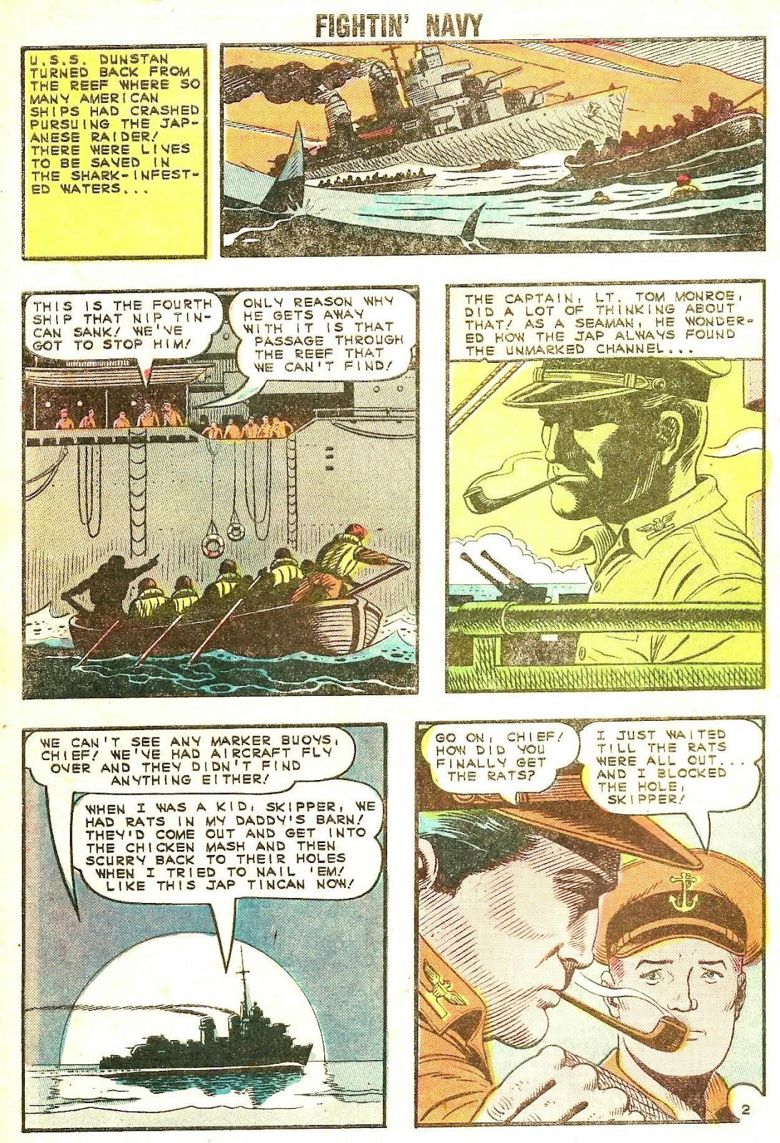 Read online Fightin' Navy comic -  Issue #120 - 4