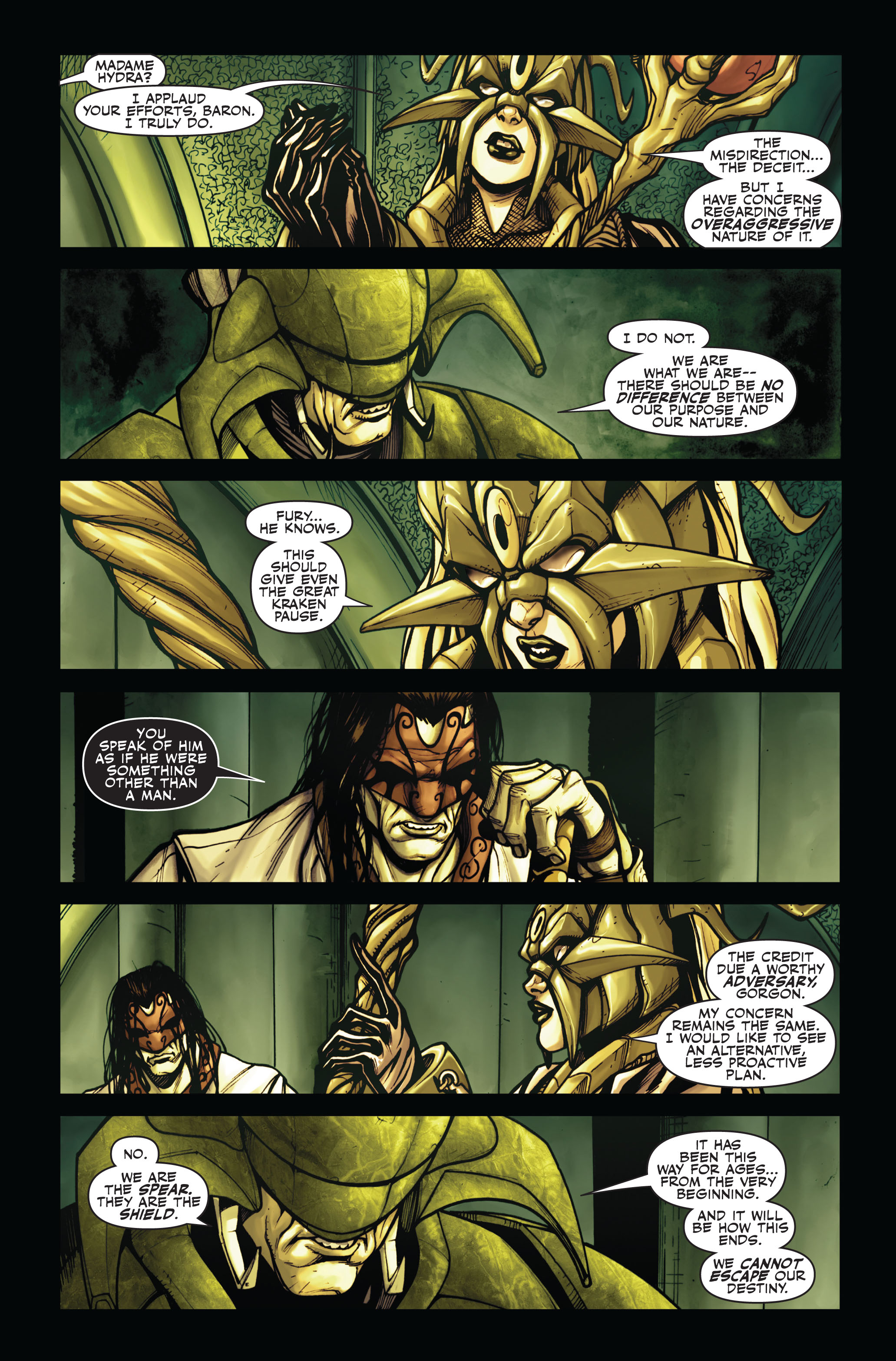 Read online Secret Warriors comic -  Issue #4 - 20