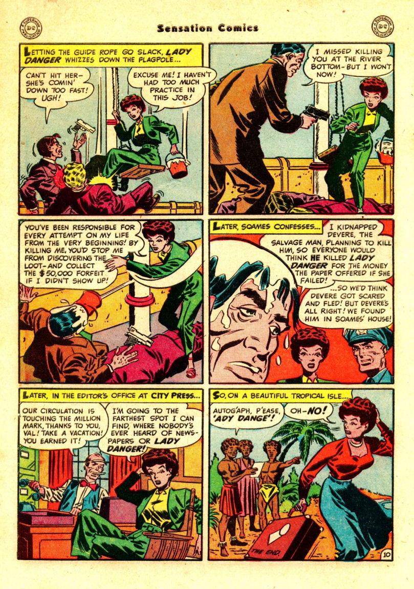 Read online Sensation (Mystery) Comics comic -  Issue #88 - 49