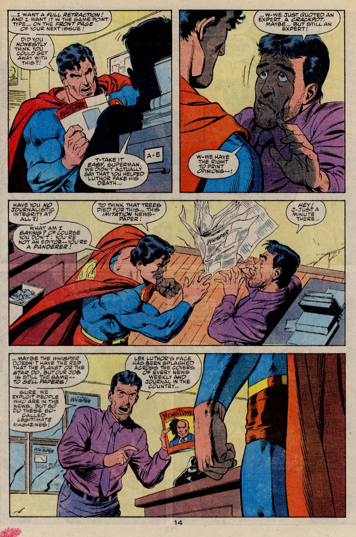 Read online Action Comics (1938) comic -  Issue #668 - 19