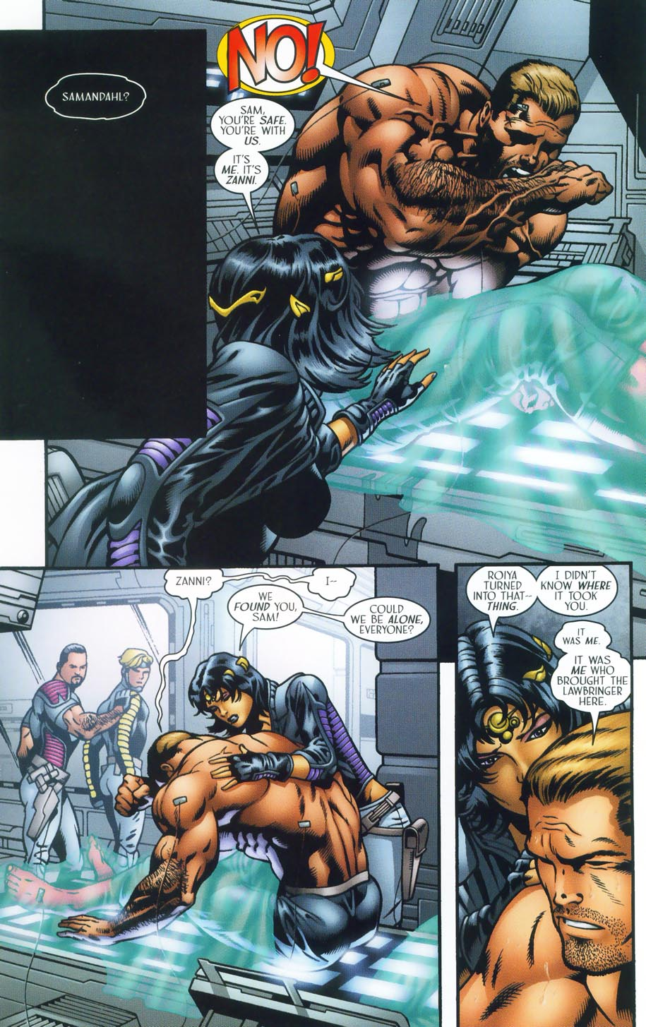 Read online Sigil (2000) comic -  Issue #38 - 8