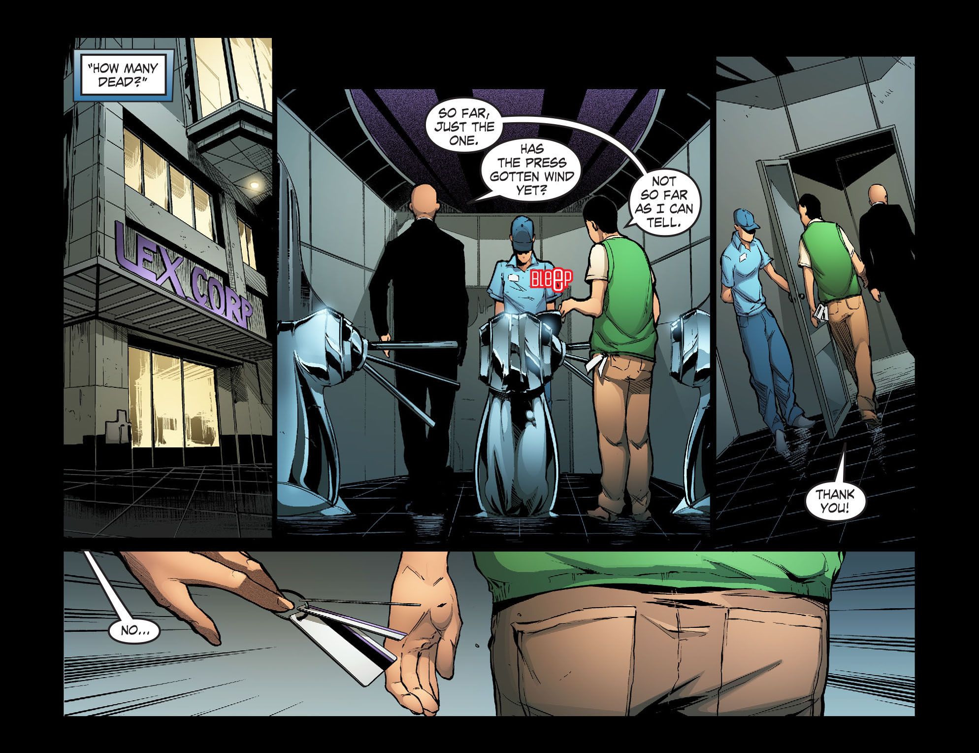 Read online Smallville: Season 11 comic -  Issue #30 - 11