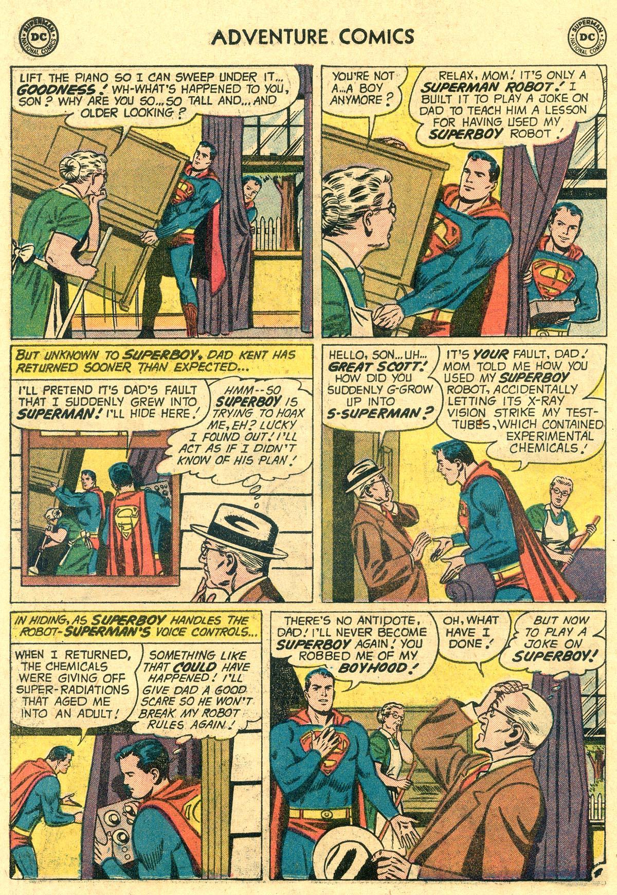 Read online Adventure Comics (1938) comic -  Issue #265 - 6