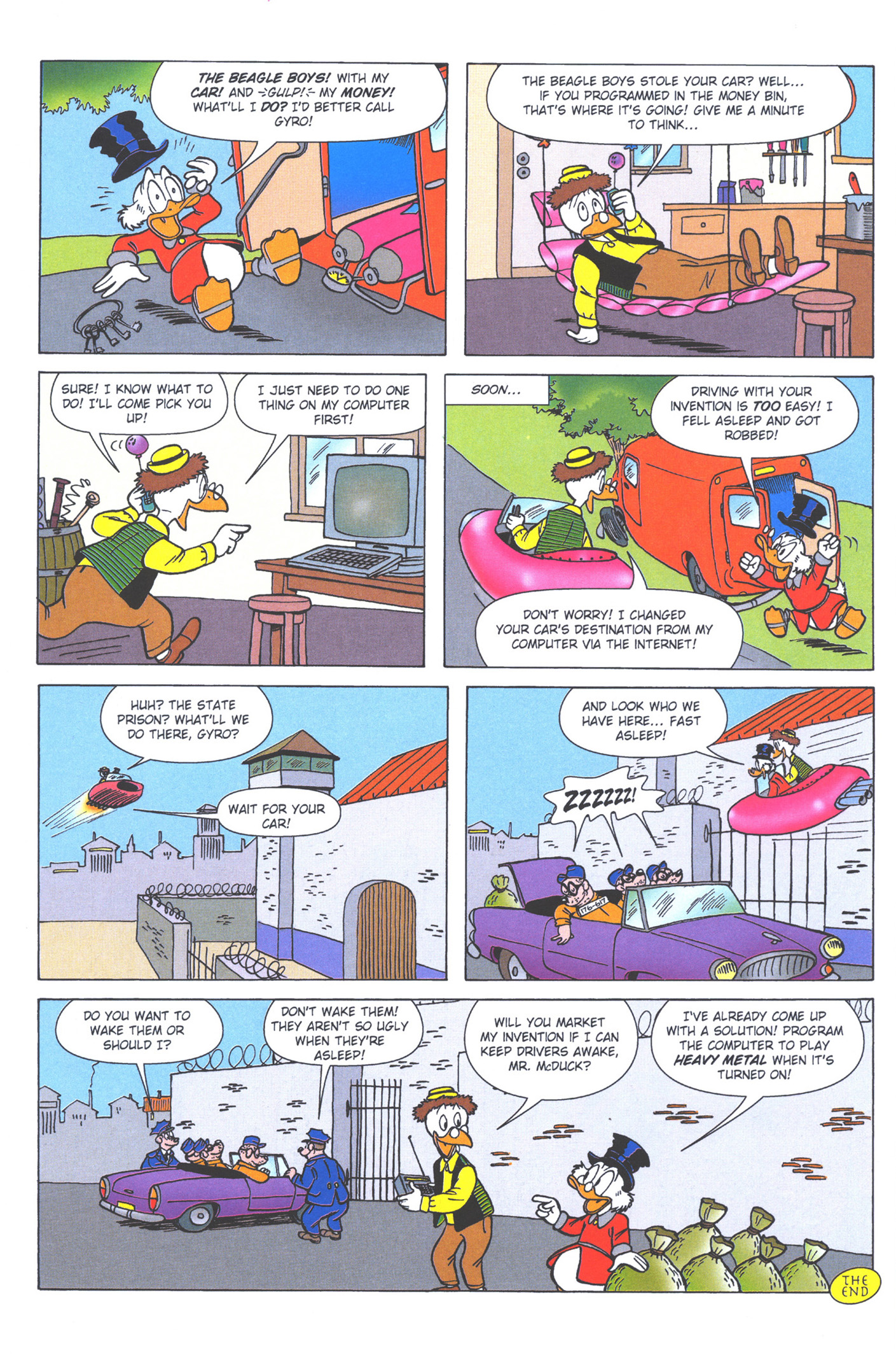 Read online Uncle Scrooge (1953) comic -  Issue #376 - 66