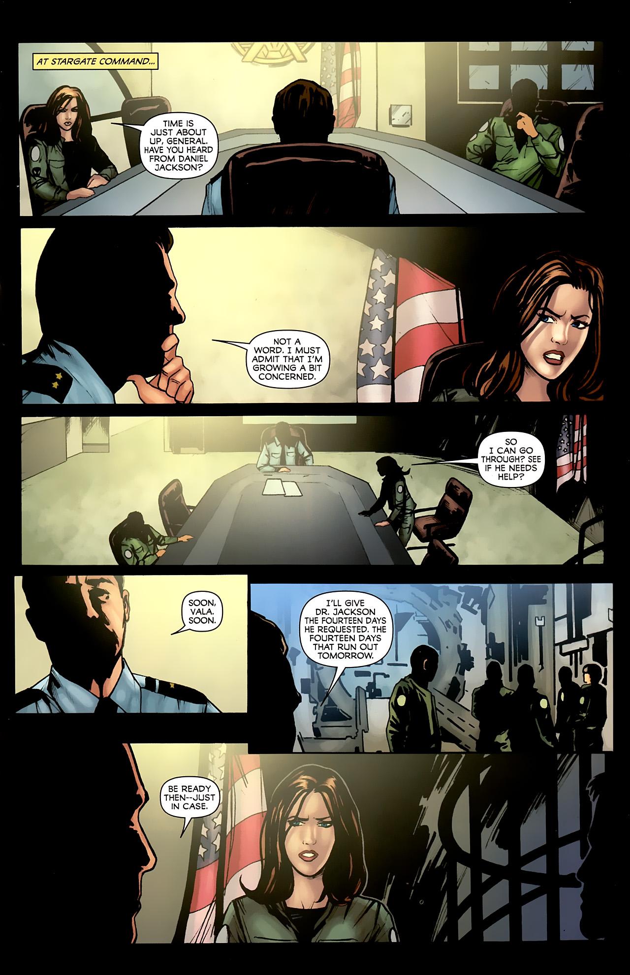Read online Stargate: Daniel Jackson comic -  Issue #4 - 13