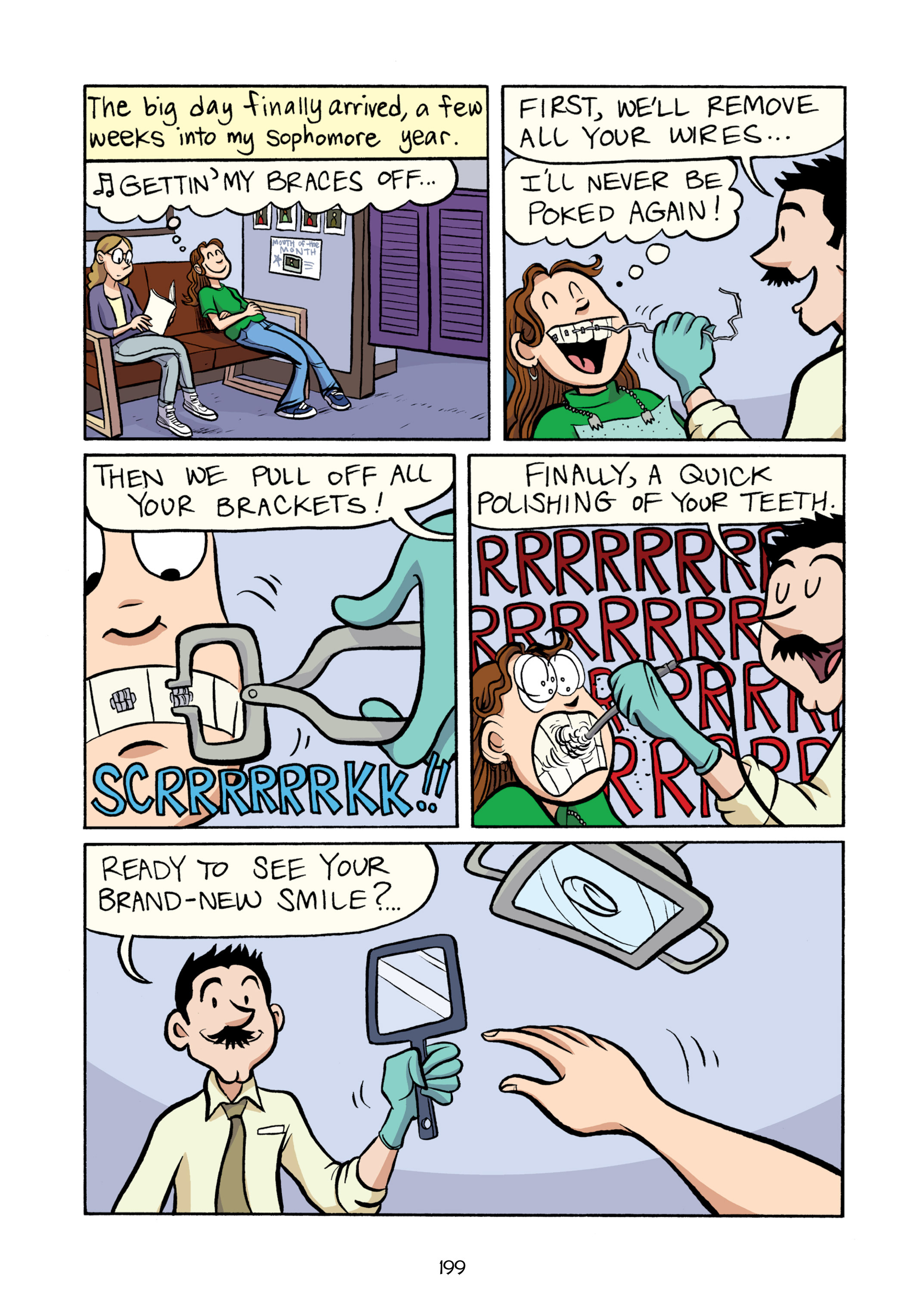 Read online Smile comic -  Issue # TPB - 205