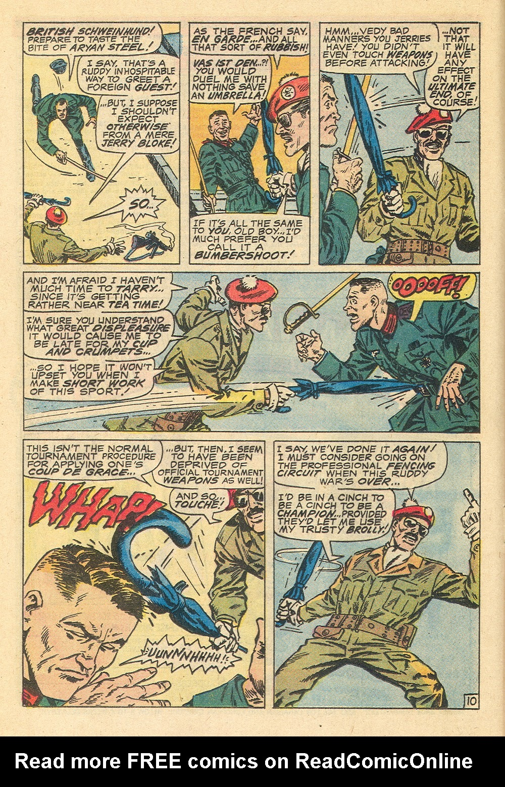 Read online Sgt. Fury comic -  Issue #71 - 16