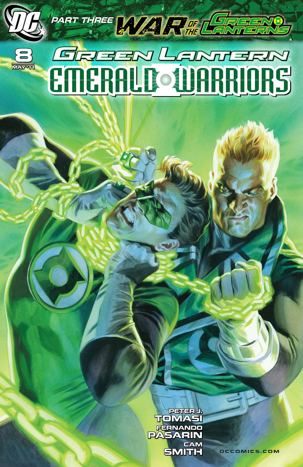 Green Lantern: Emerald Warriors 8 Page 1