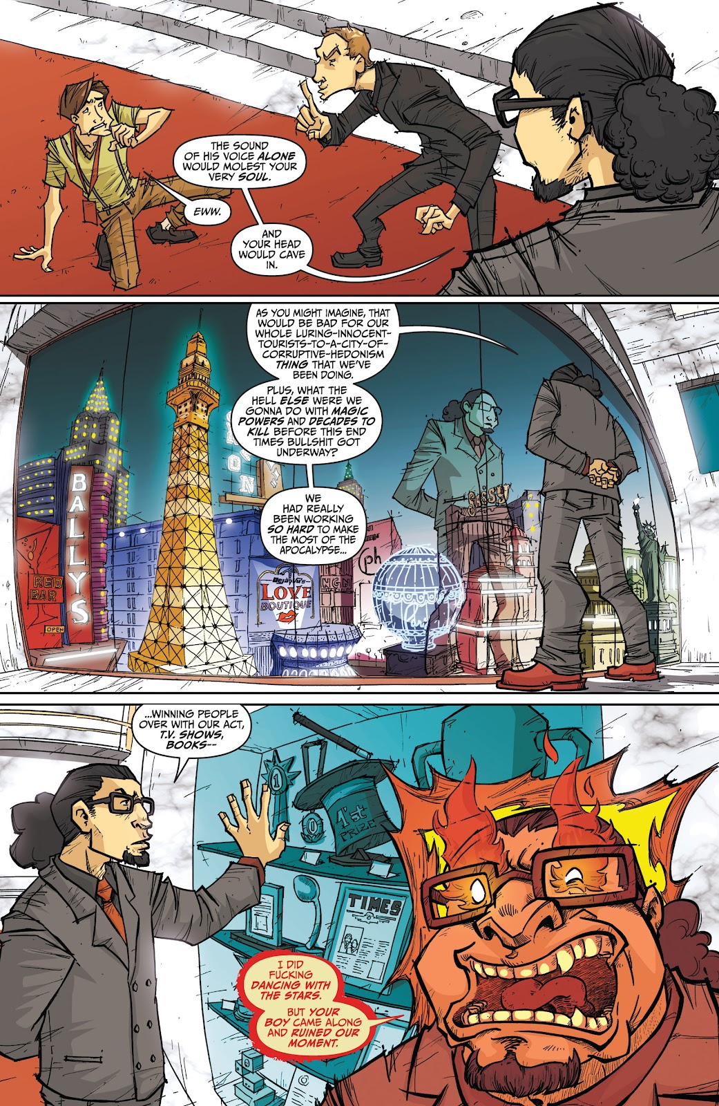 Read online The End Times of Bram and Ben comic -  Issue #4 - 5