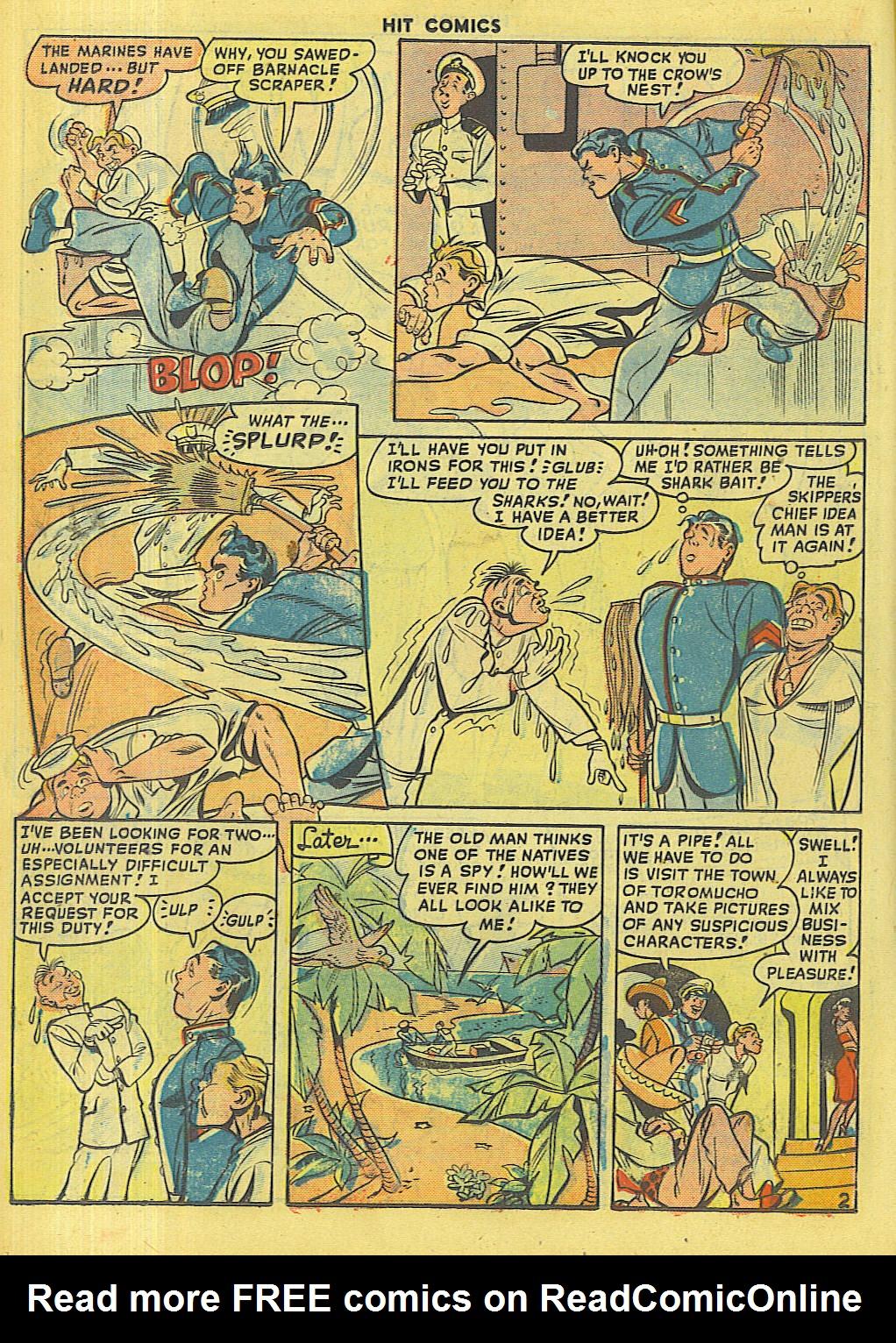 Read online Hit Comics comic -  Issue #56 - 22