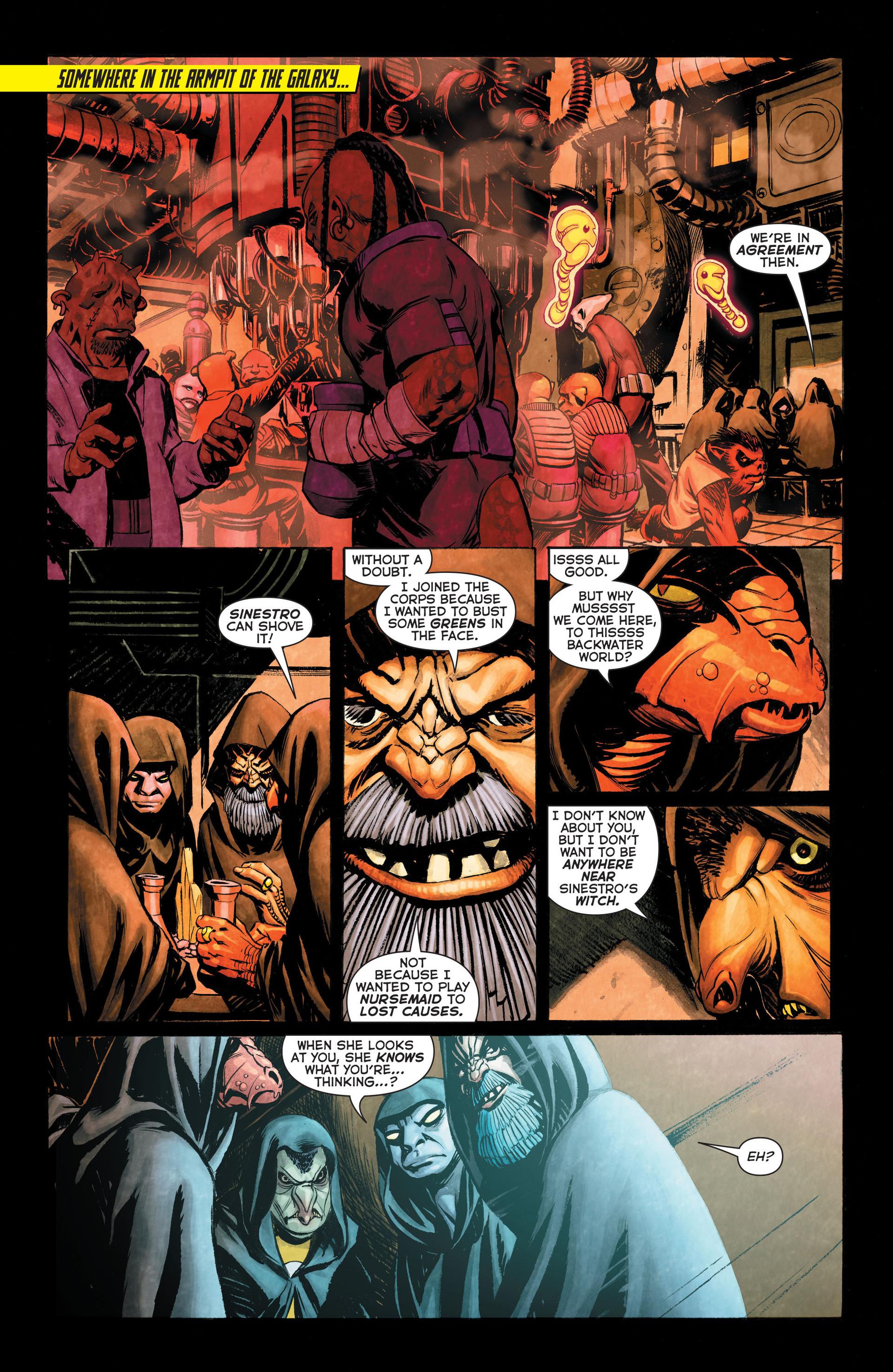 Read online Sinestro comic -  Issue #3 - 2