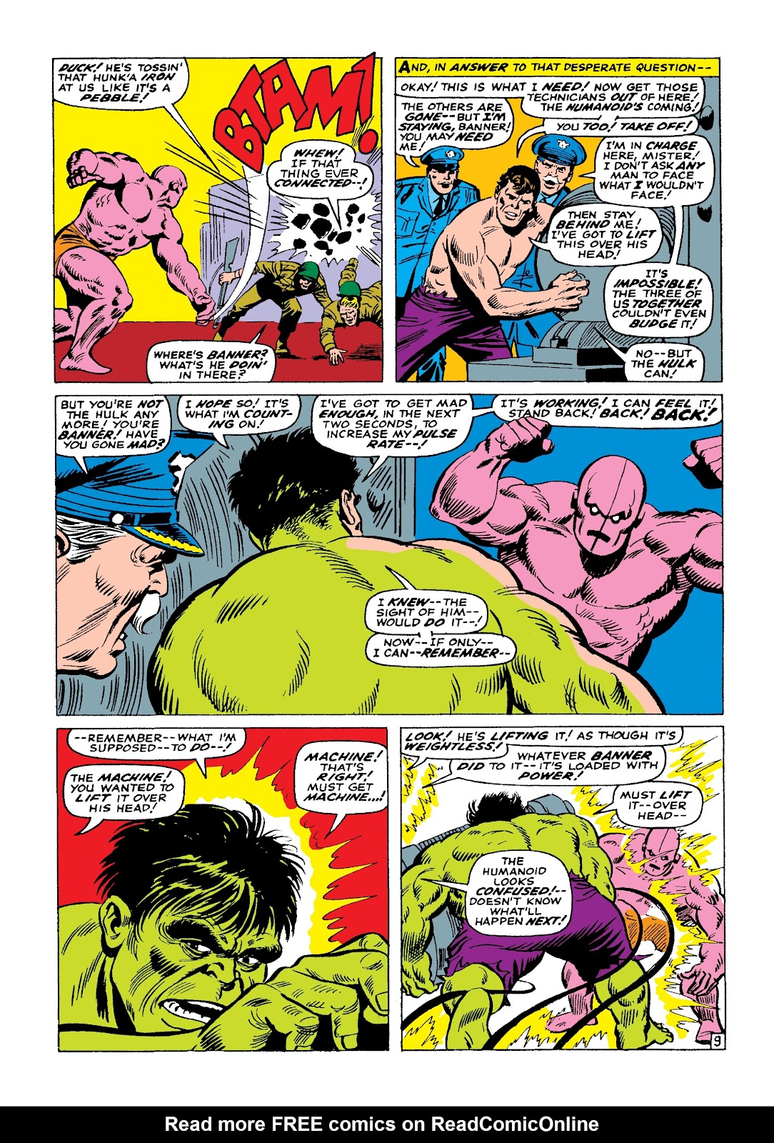 Read online Marvel Masterworks: The Incredible Hulk comic -  Issue # TPB 3 (Part 1) - 93