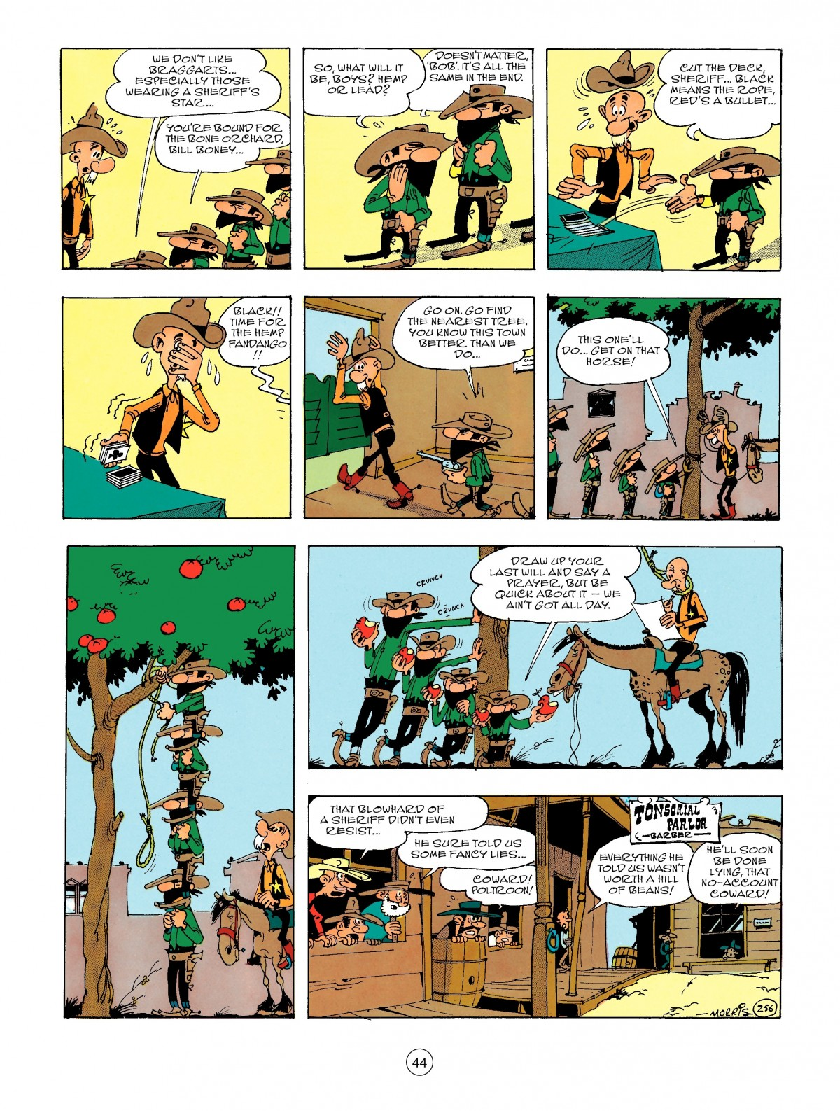 Read online A Lucky Luke Adventure comic -  Issue #47 - 44