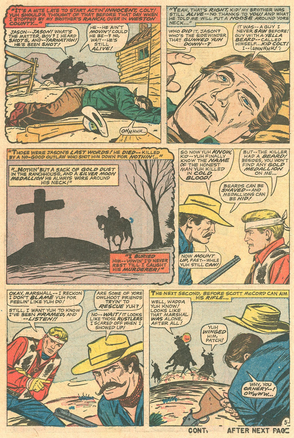 Kid Colt Outlaw issue 136 - Page 18