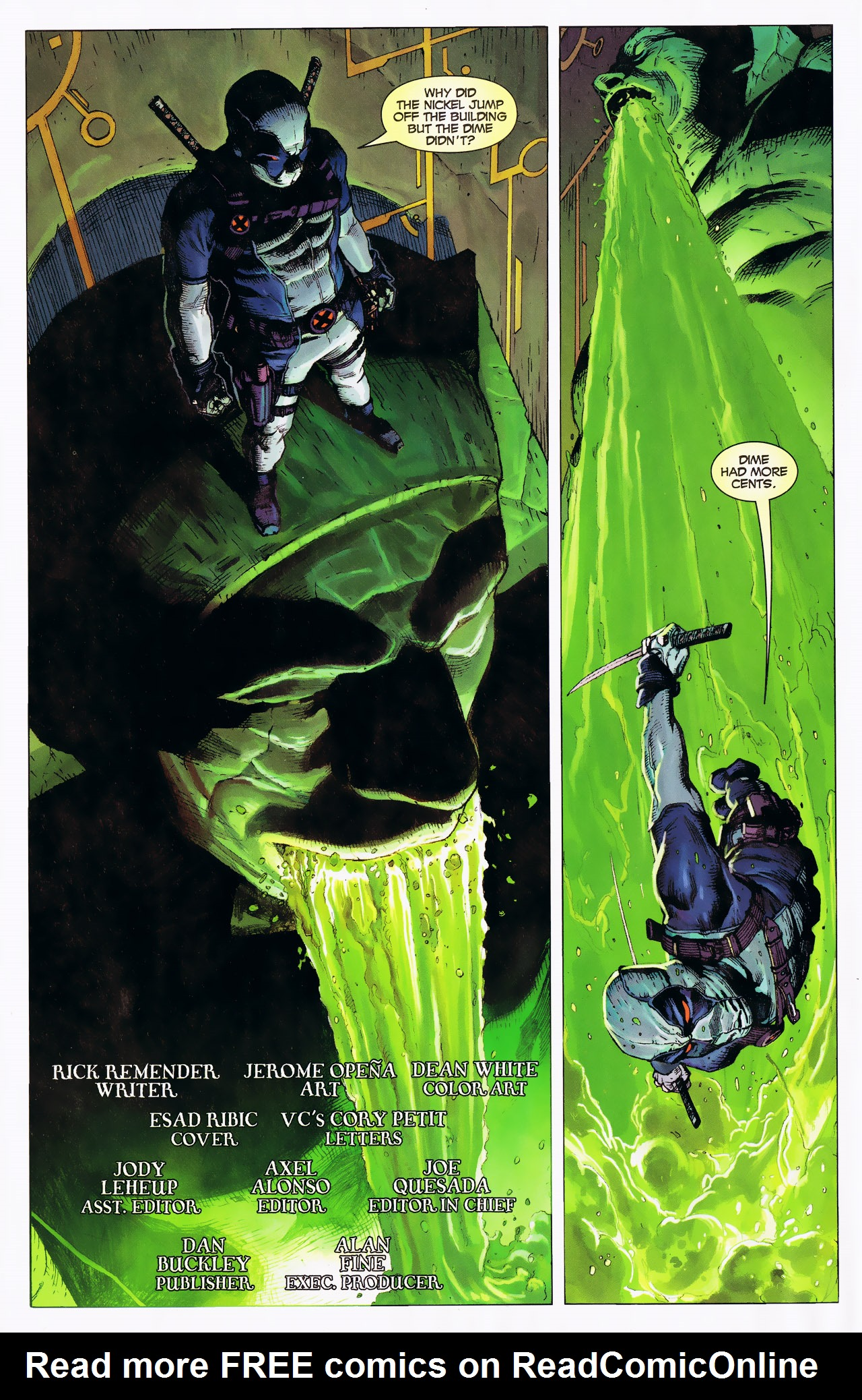 Read online Uncanny X-Force: The Apocalypse Solution comic -  Issue # Full - 4