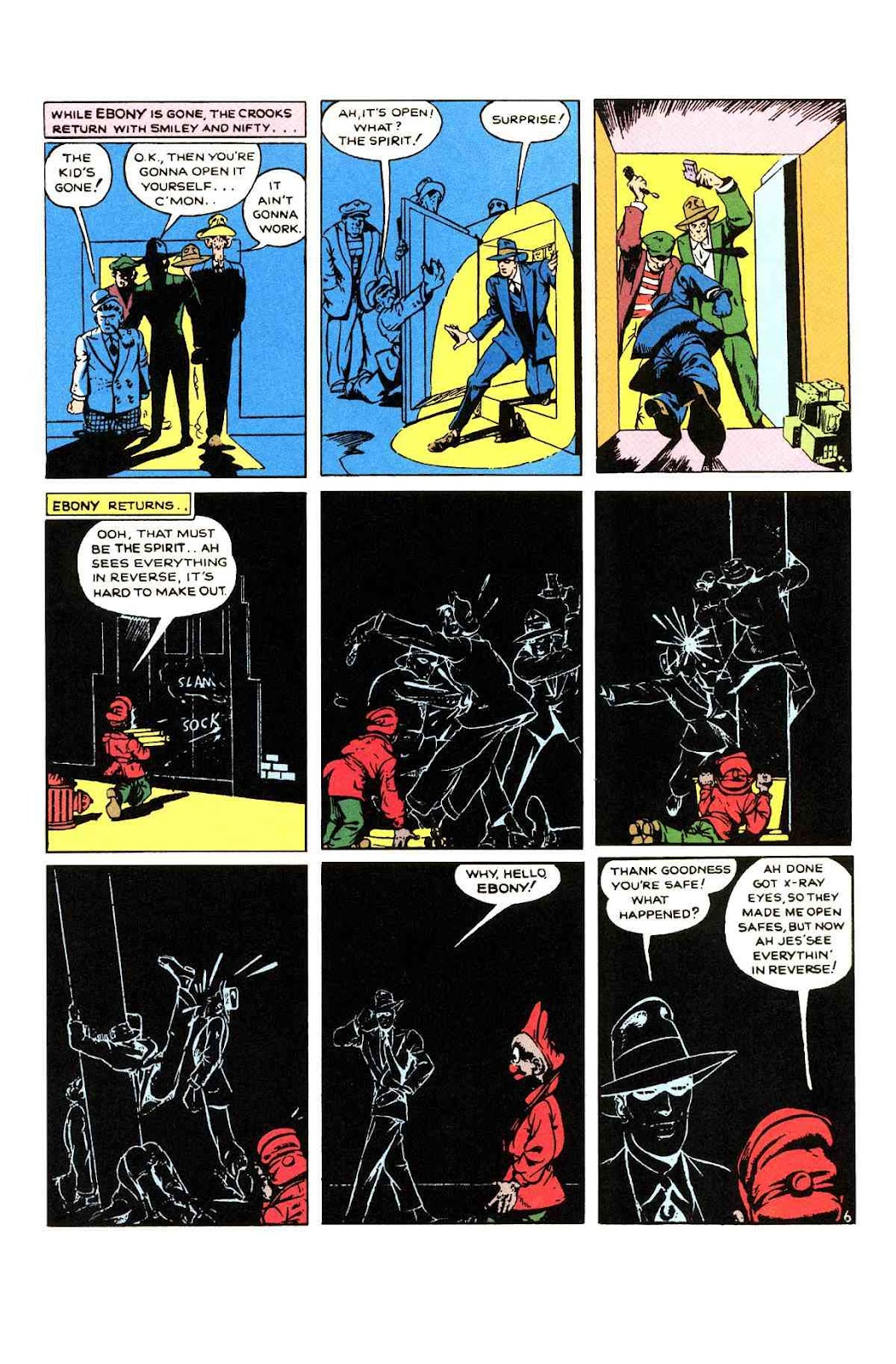 Read online Will Eisner's The Spirit Archives comic -  Issue # TPB 1 (Part 2) - 12