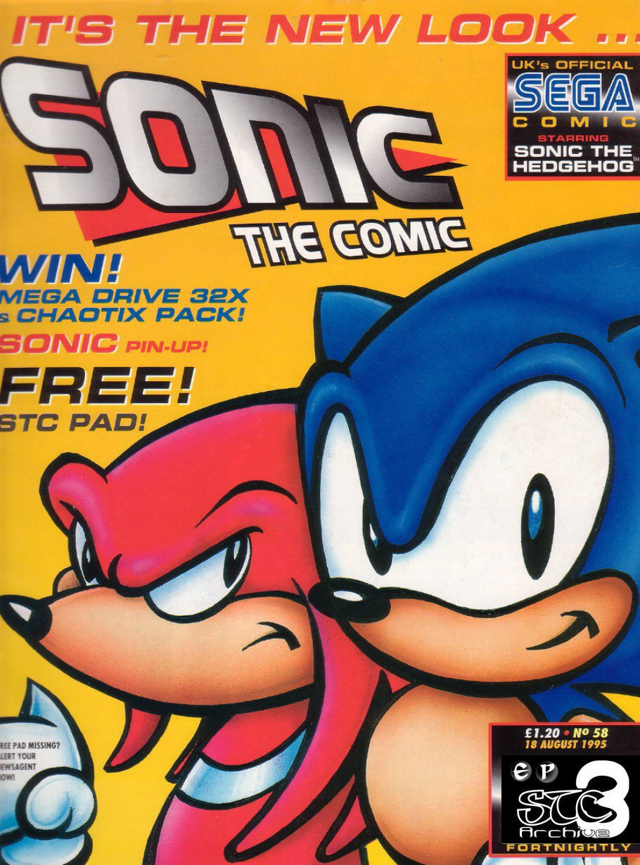 Read online Sonic the Comic comic -  Issue #58 - 1