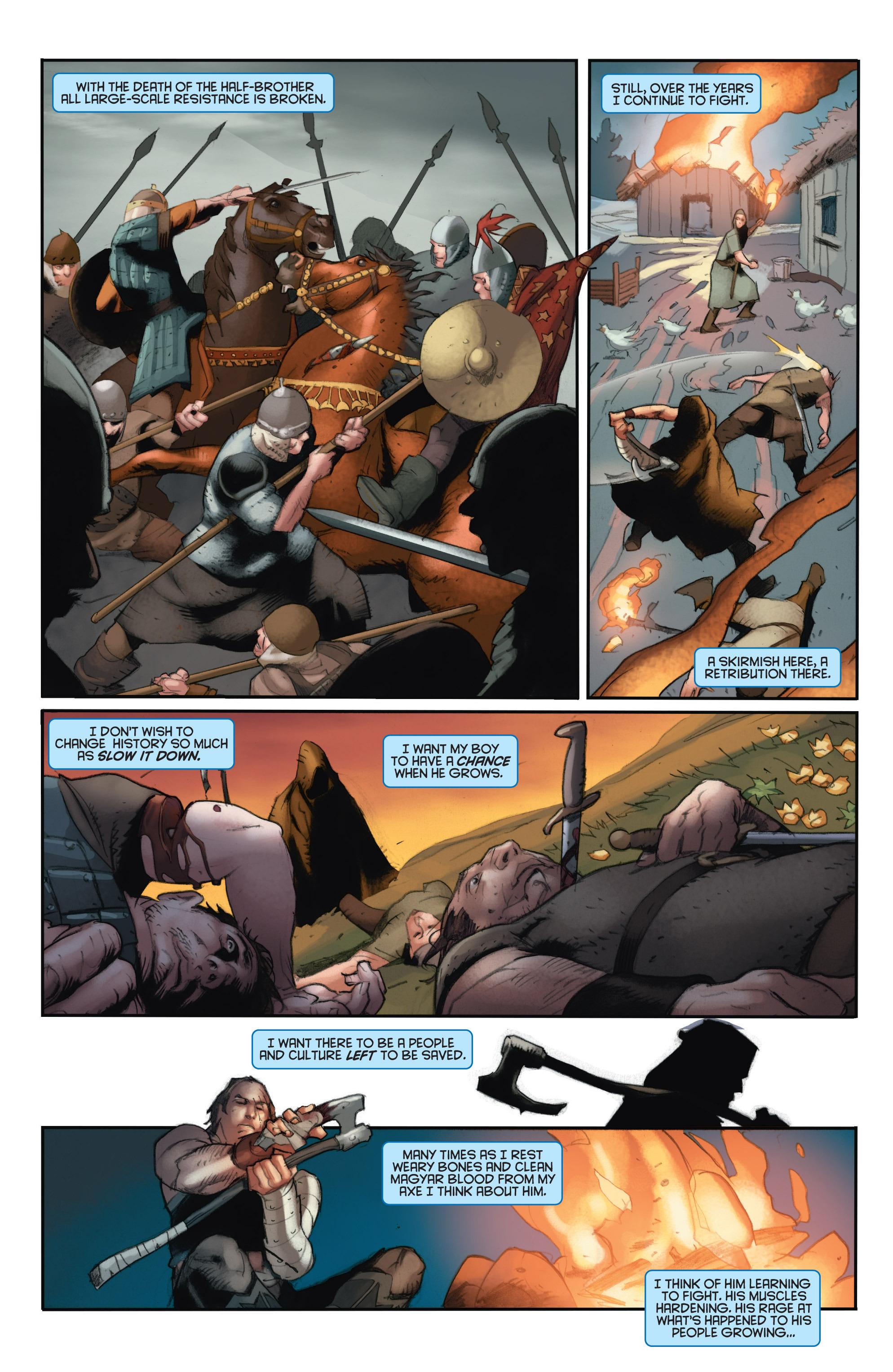 Read online Eternal Warrior: Days of Steel comic -  Issue #2 - 10