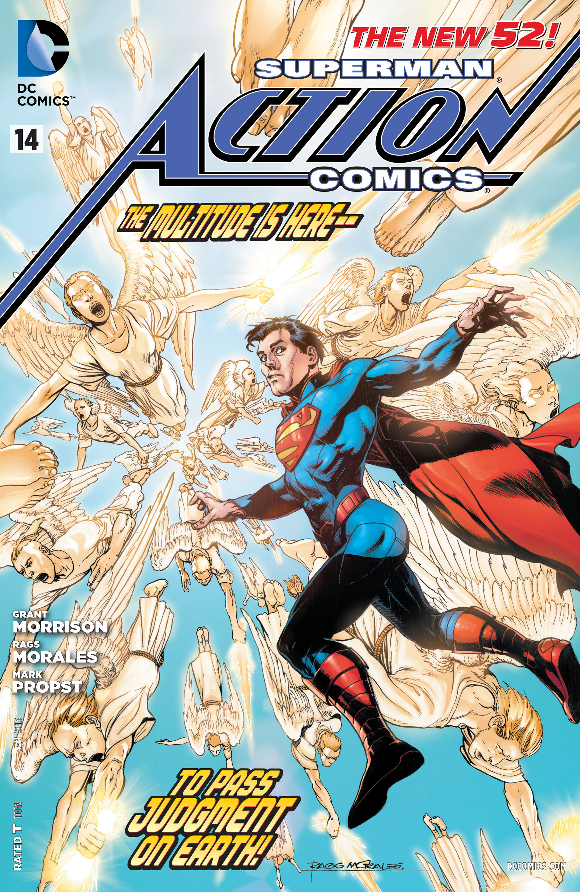 Read online Action Comics (2011) comic -  Issue #14 - 1