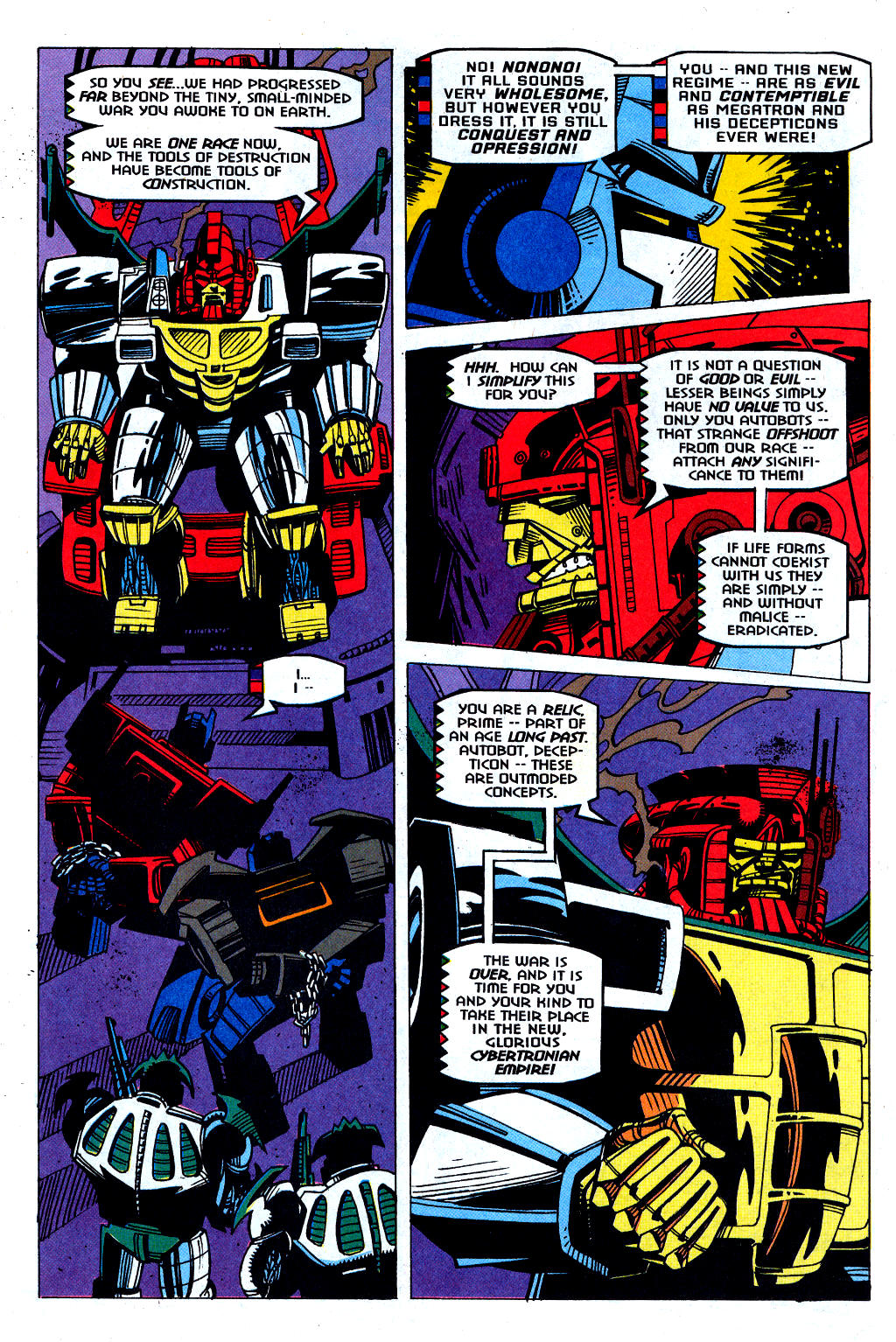 Read online Transformers: Generation 2 comic -  Issue #1 - 28