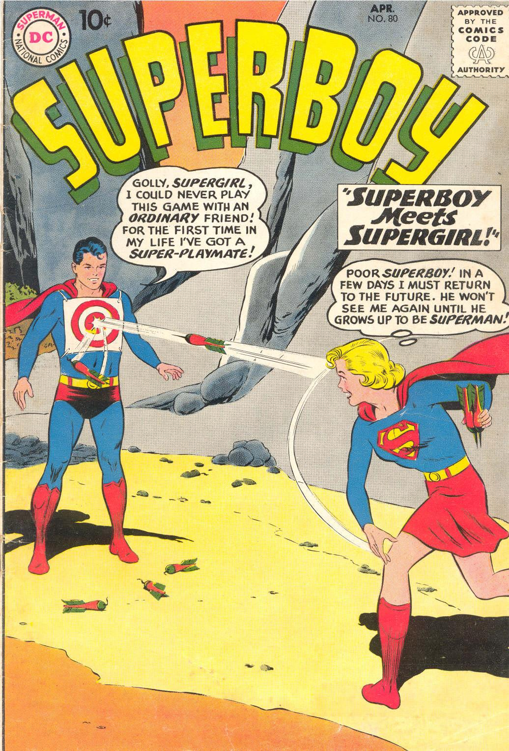 Superboy (1949) issue 80 - Page 1
