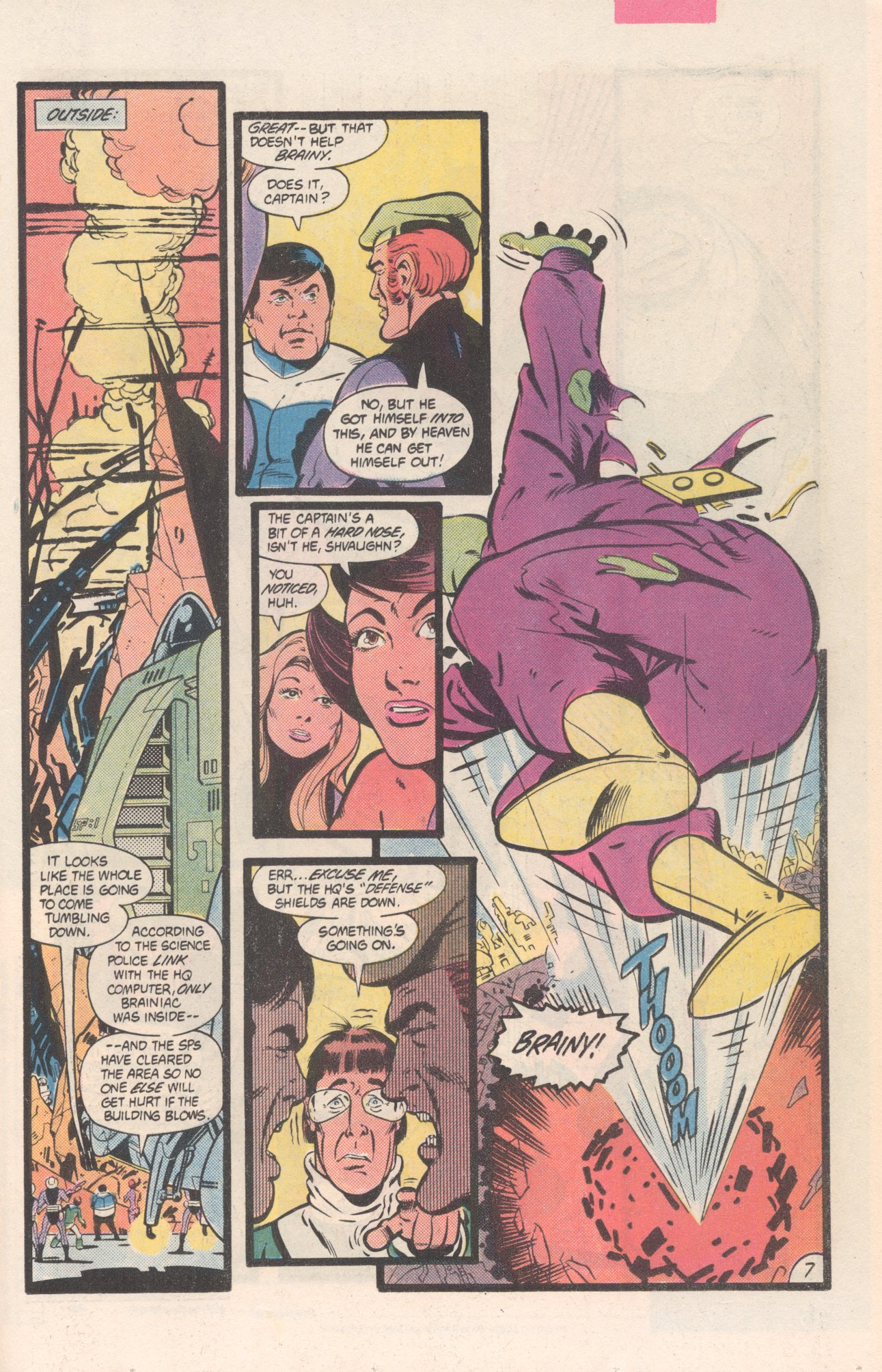 Legion of Super-Heroes (1980) 311 Page 7