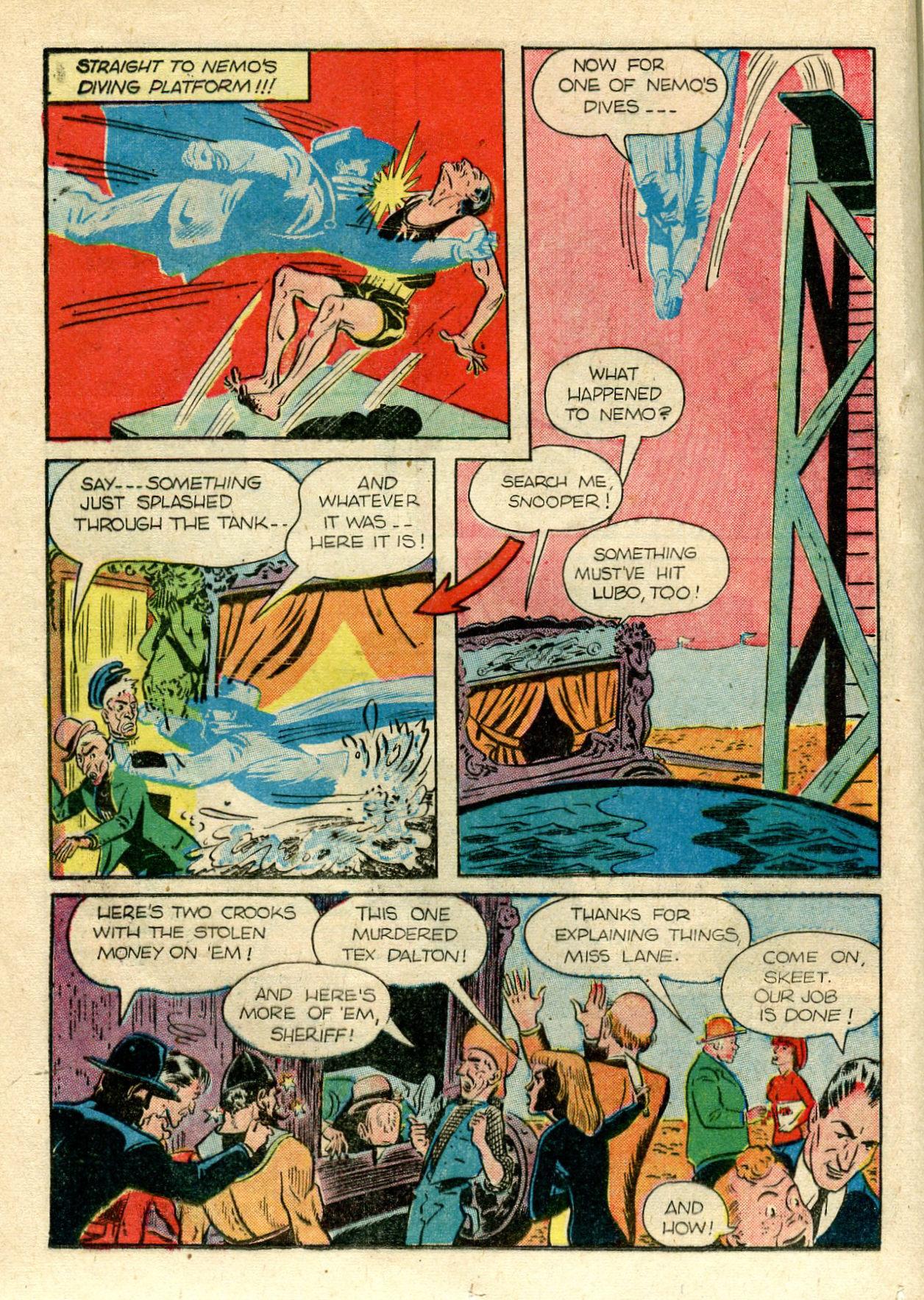 Read online Shadow Comics comic -  Issue #33 - 28