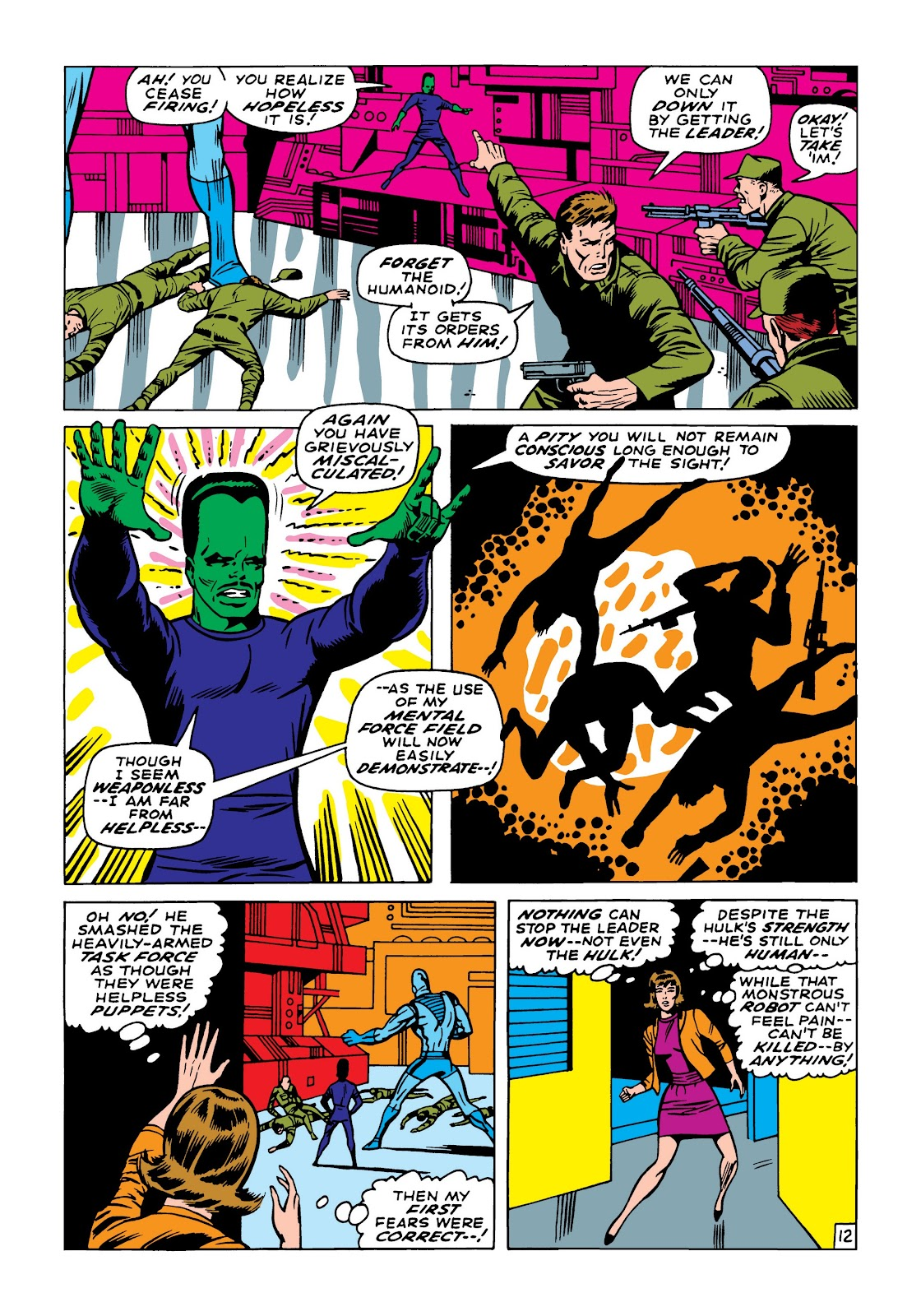Read online Marvel Masterworks: The Incredible Hulk comic -  Issue # TPB 5 (Part 2) - 23