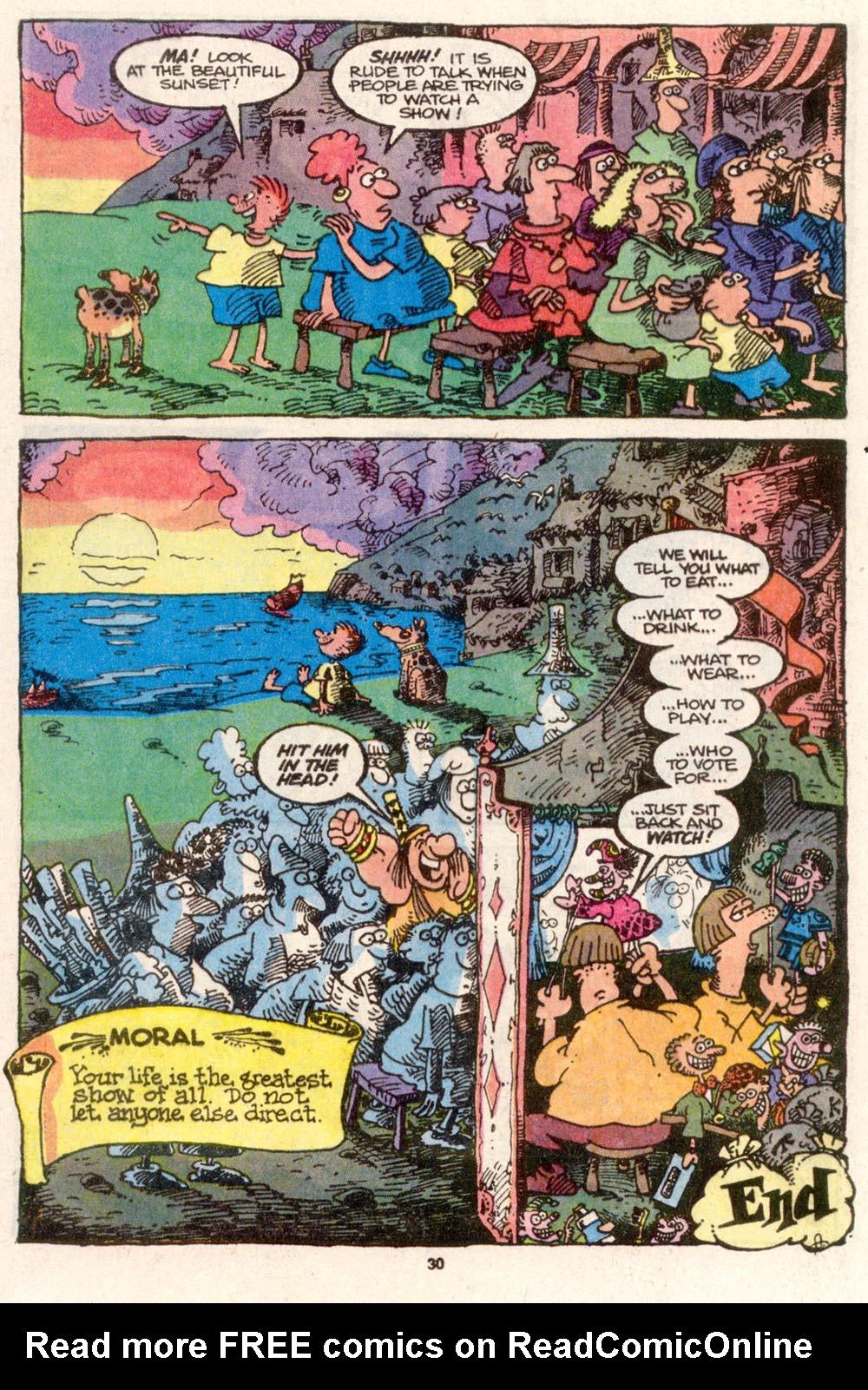 Read online Sergio Aragonés Groo the Wanderer comic -  Issue #84 - 23