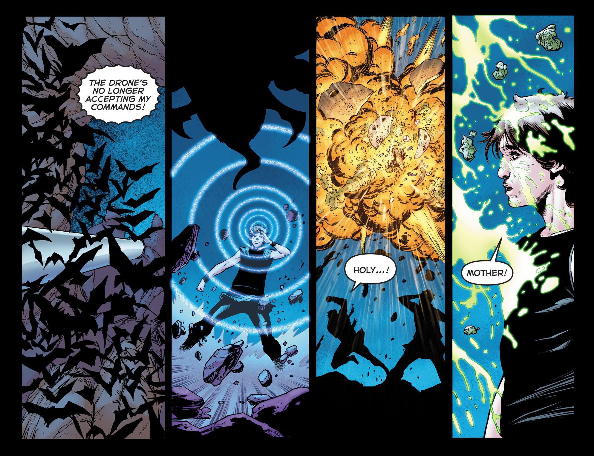 Read online Arrow: The Dark Archer comic -  Issue #12 - 14