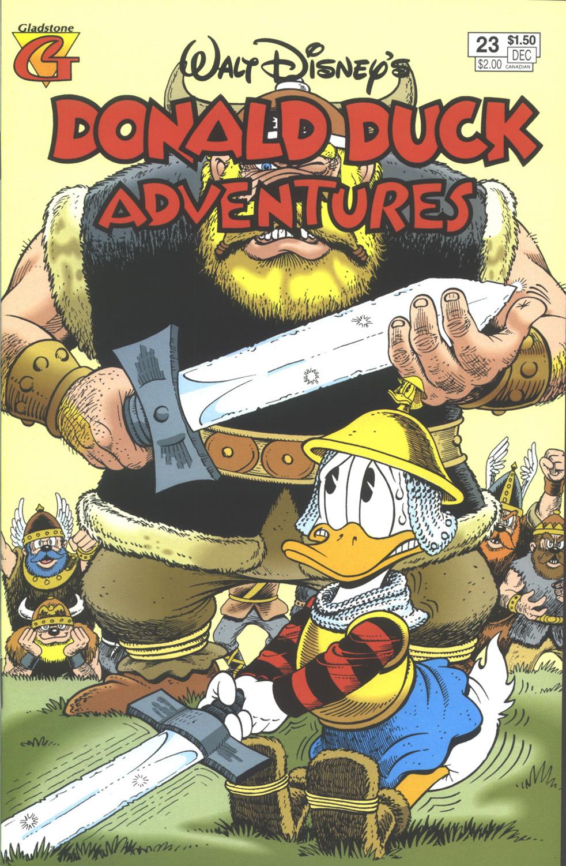 Walt Disney's Donald Duck Adventures (1987) issue 23 - Page 1