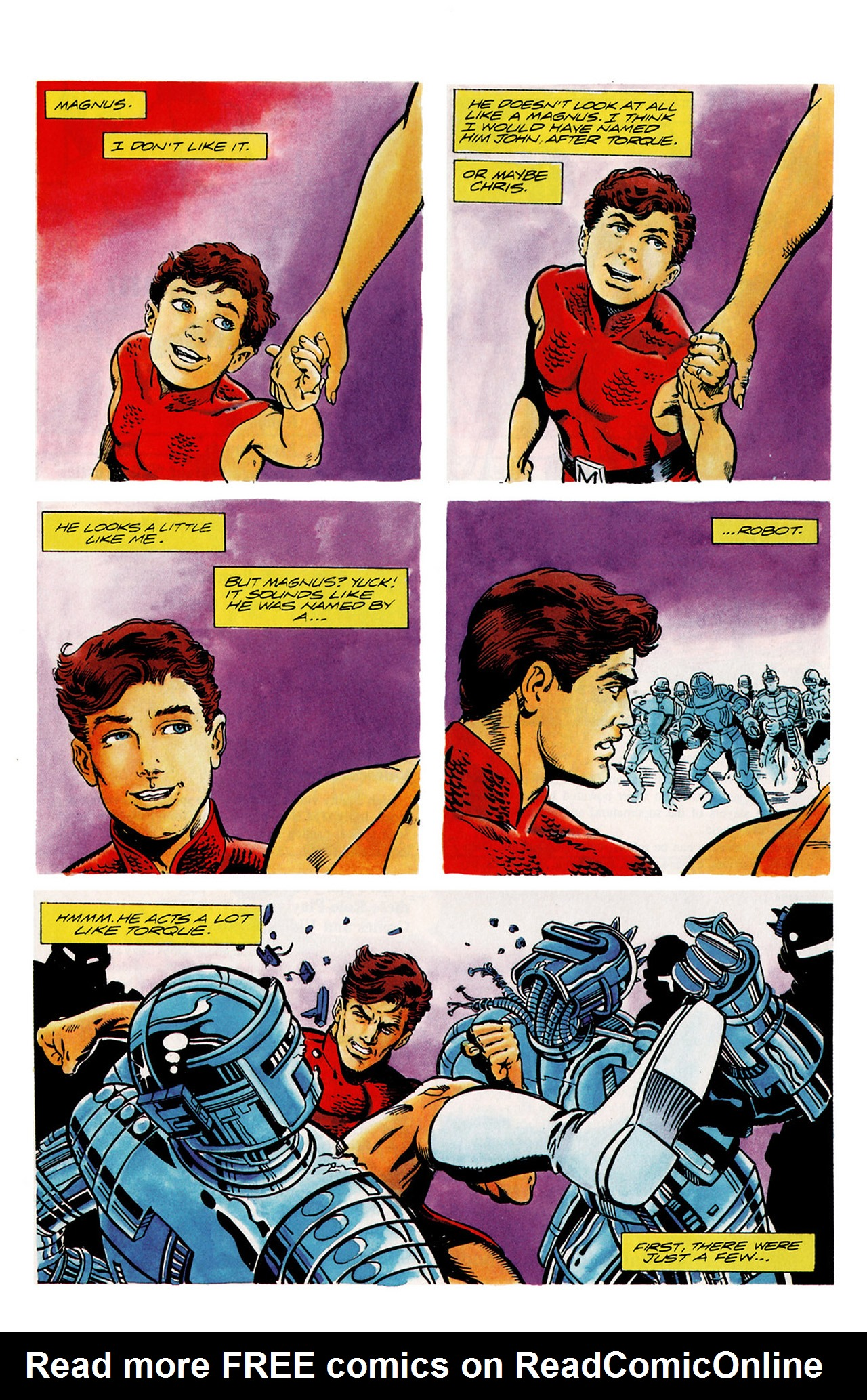 Read online Harbinger (1992) comic -  Issue #14 - 13