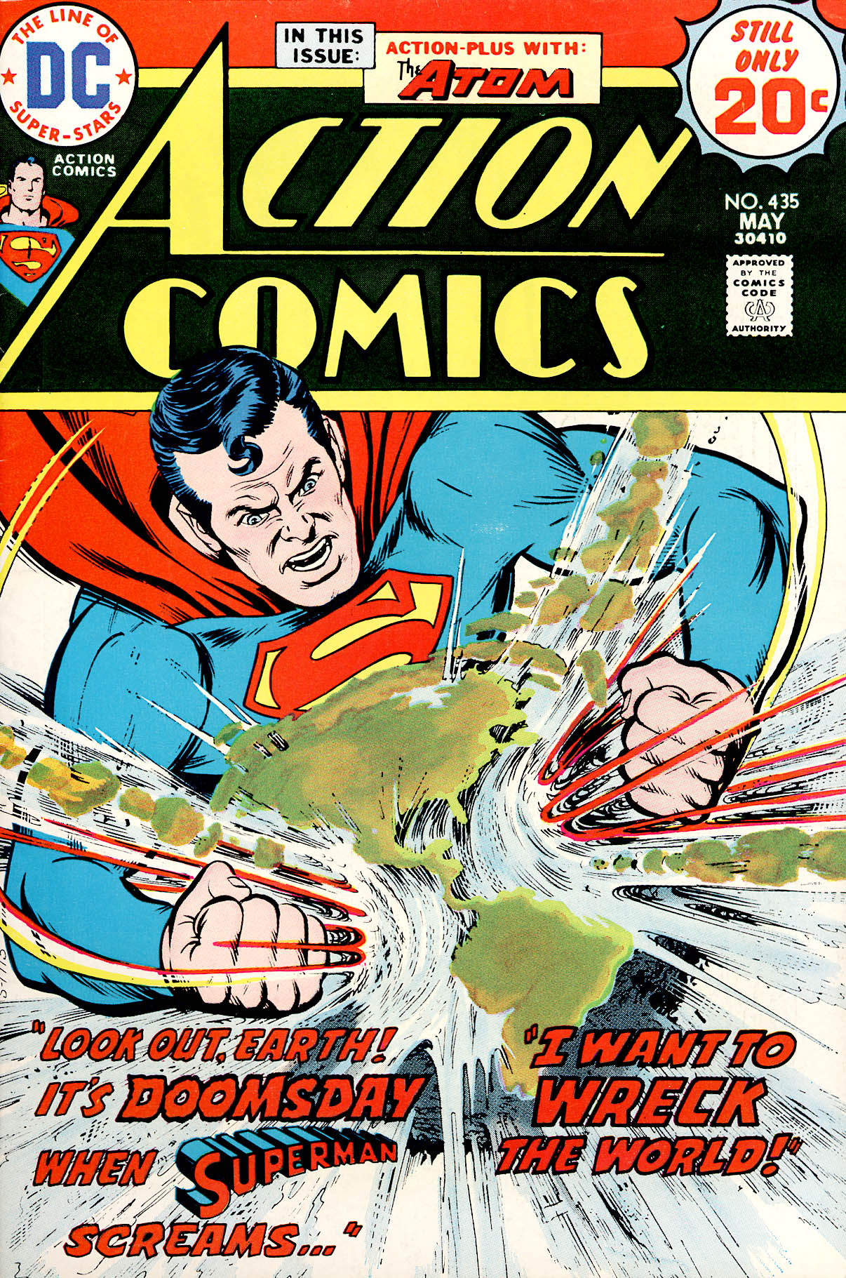 Read online Action Comics (1938) comic -  Issue #435 - 1