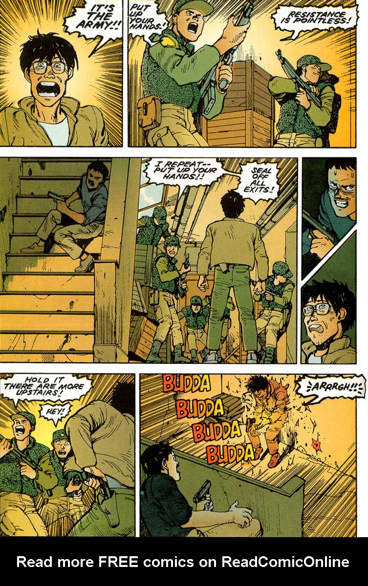 Read online Akira comic -  Issue #3 - 52