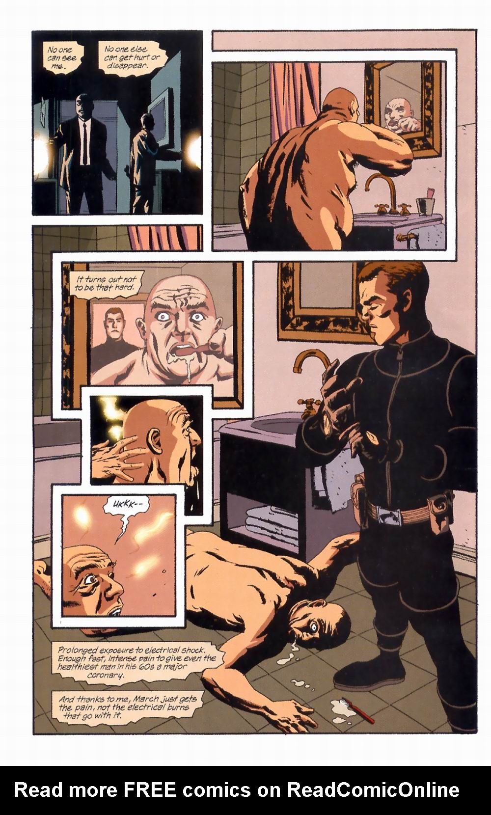 Read online Sleeper comic -  Issue #4 - 16