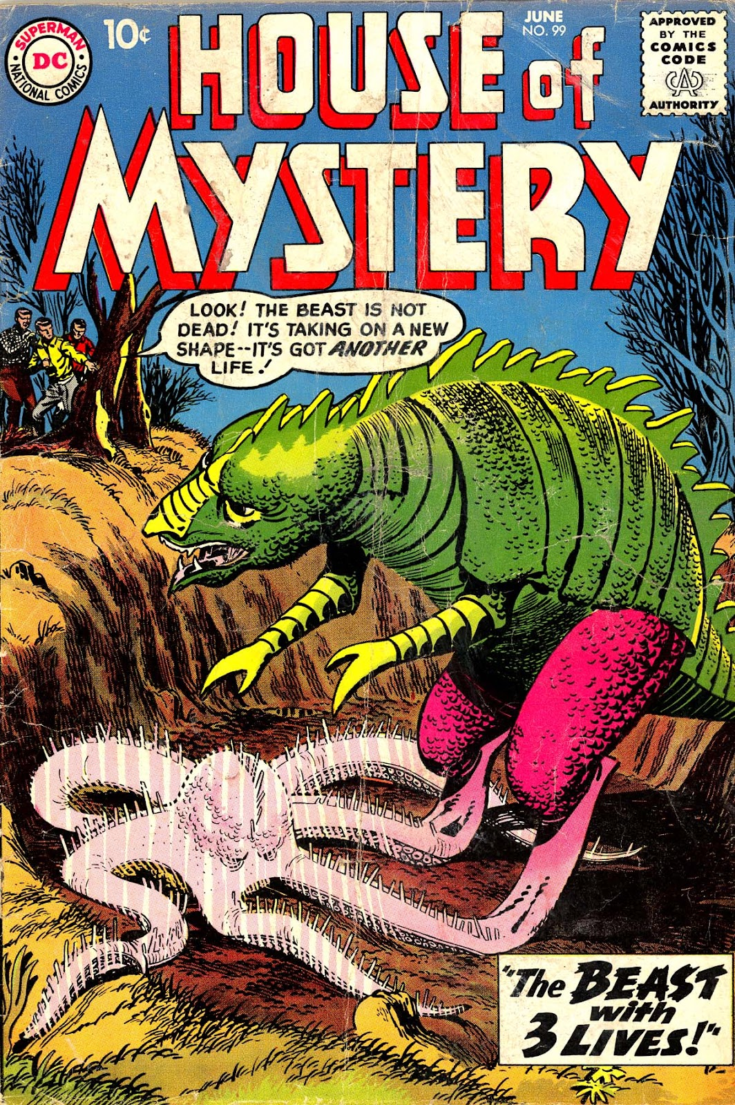 House of Mystery (1951) issue 99 - Page 1