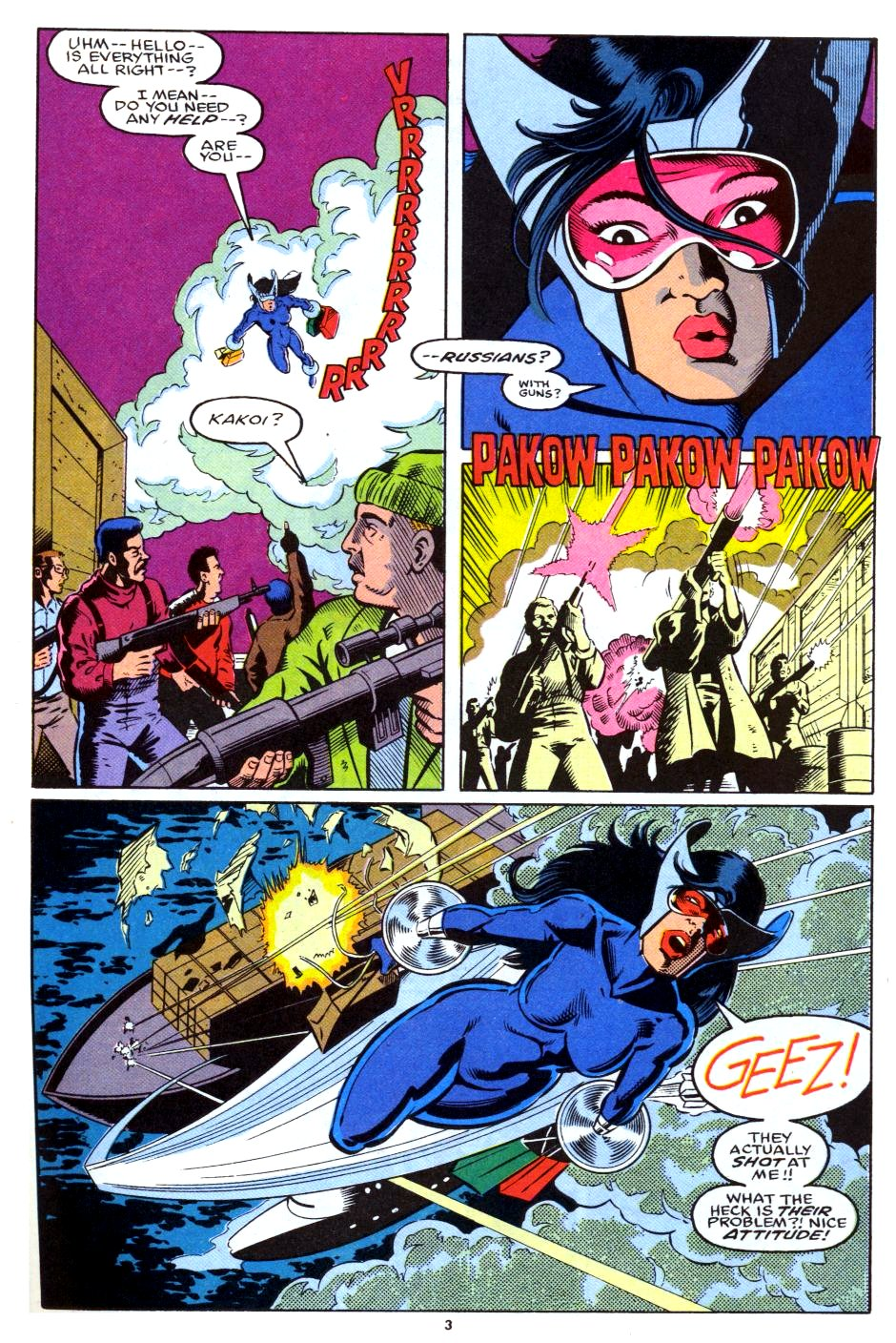The New Warriors Issue #28 #32 - English 4