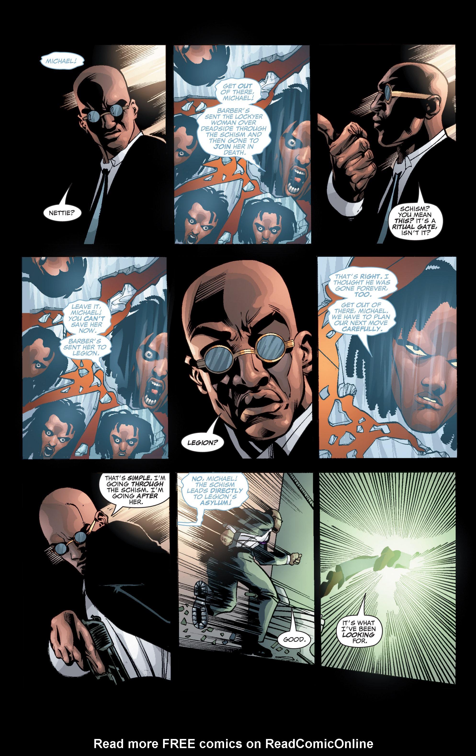 Read online Shadowman (1999) comic -  Issue #3 - 21