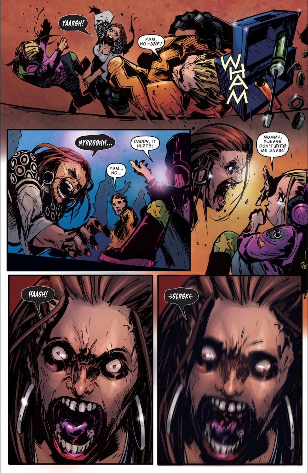 Read online Dead Rising: Road to Fortune comic -  Issue #3 - 22