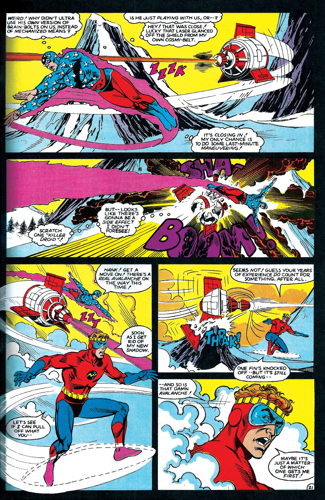 Infinity Inc. (1984) issue 6 - Page 22