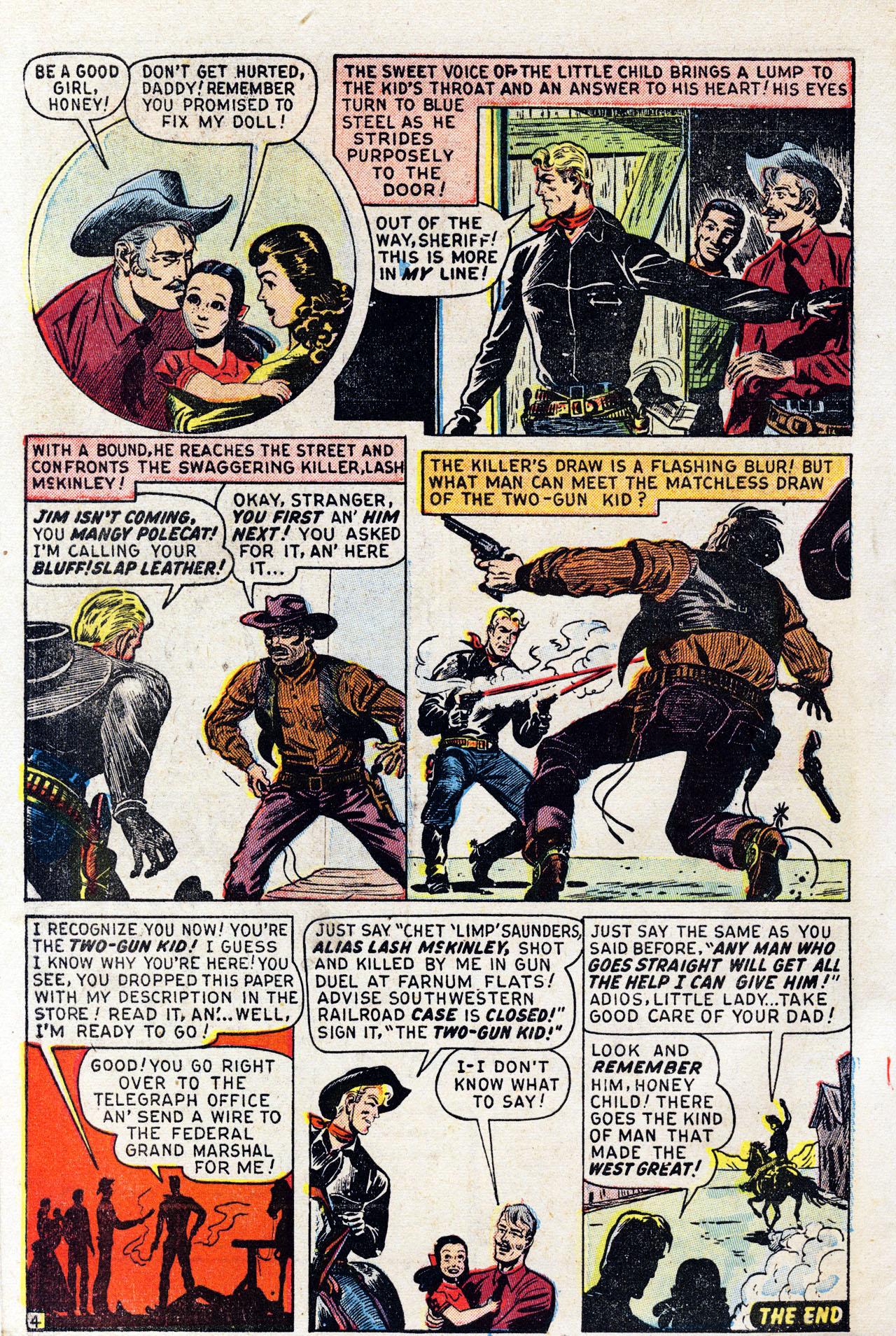 Read online Two-Gun Kid comic -  Issue #6 - 6