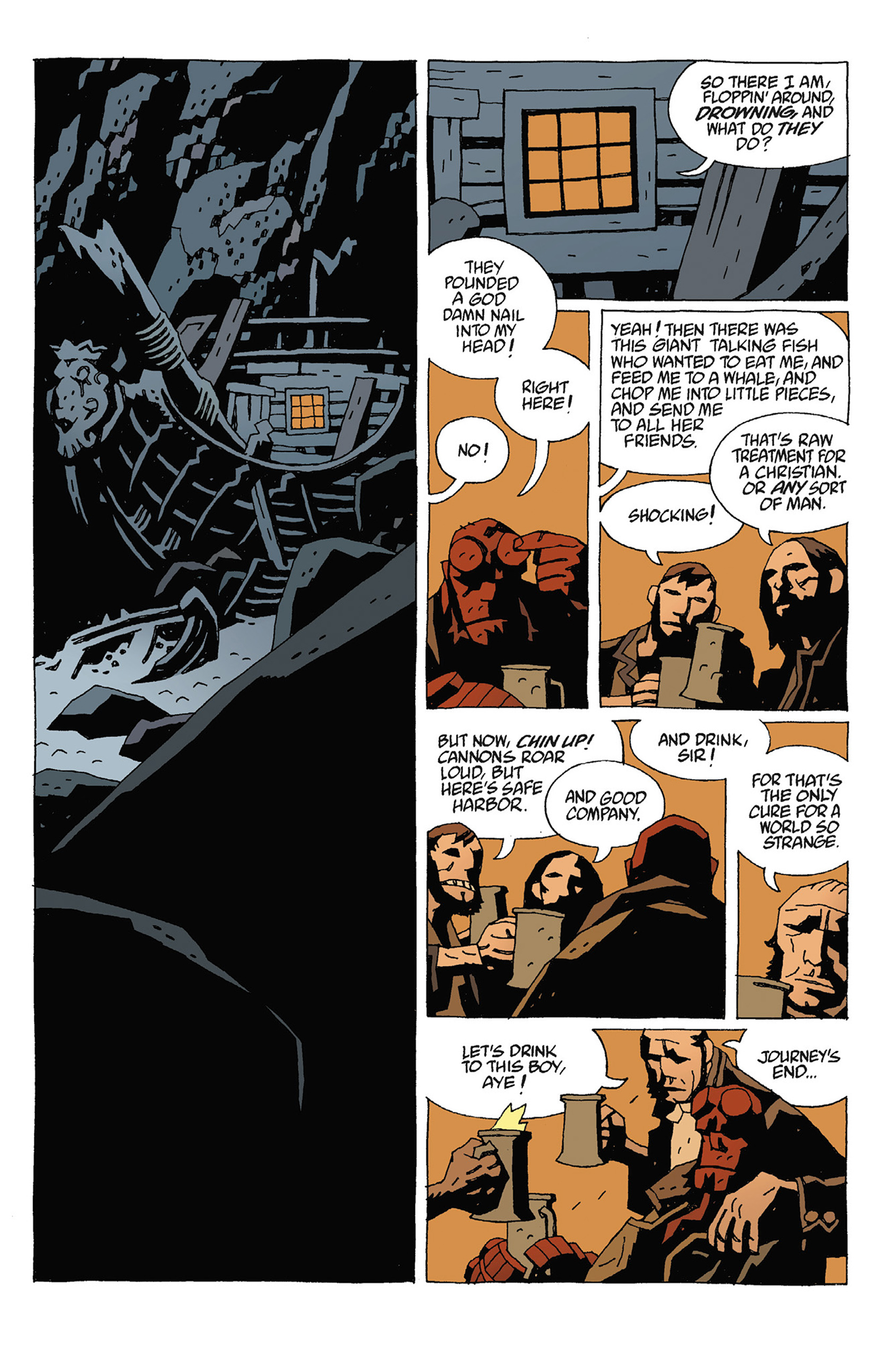 Read online Hellboy: Strange Places comic -  Issue # TPB - 71