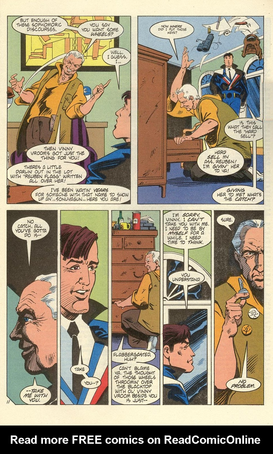 American Flagg! issue 39 - Page 13