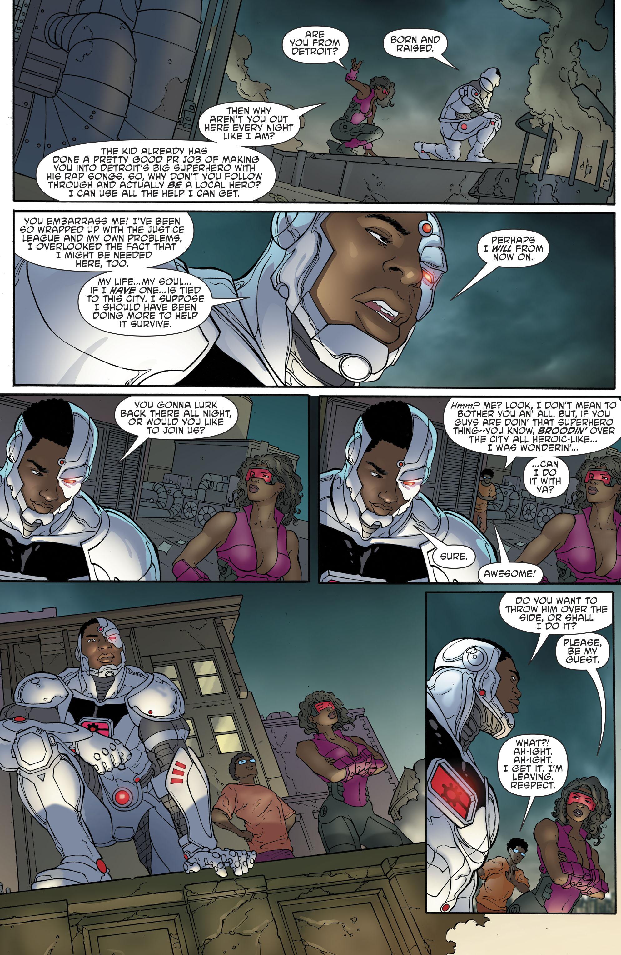 Read online Cyborg (2016) comic -  Issue #13 - 16