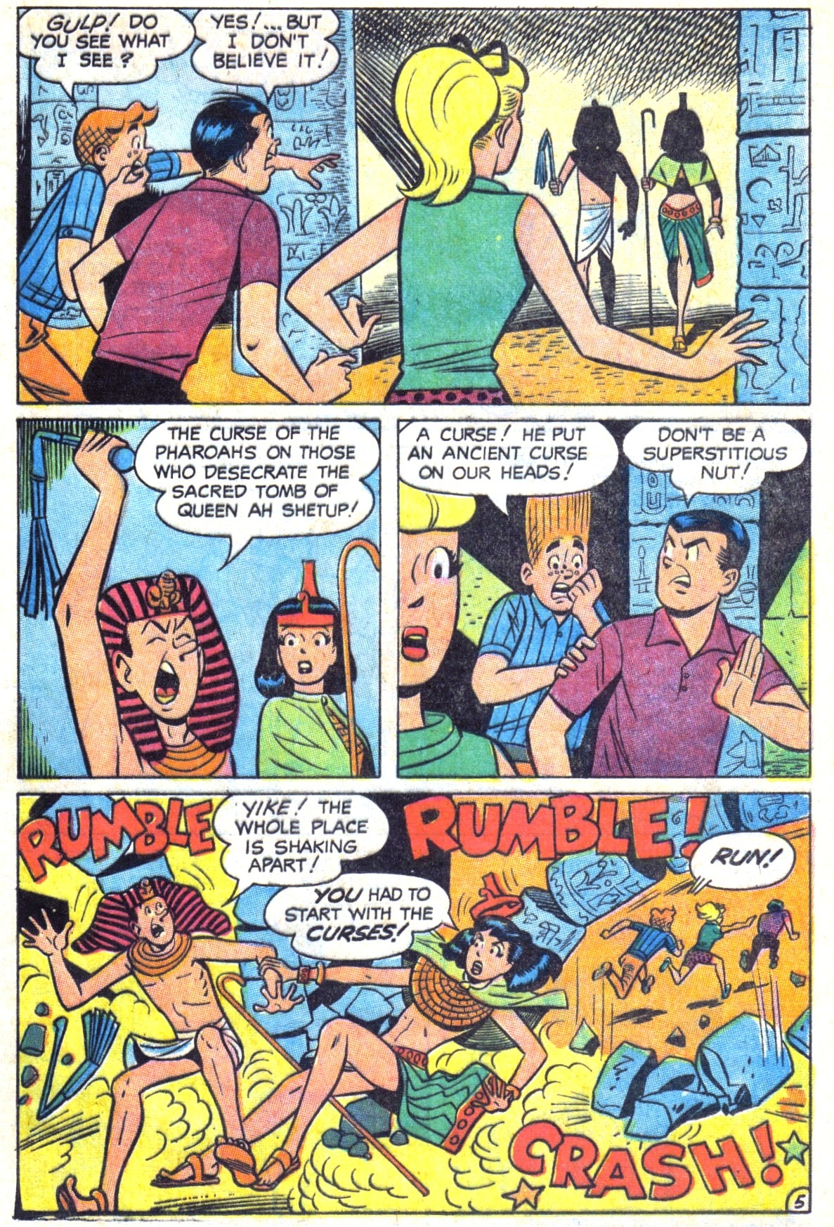 Read online Archie (1960) comic -  Issue #179 - 17